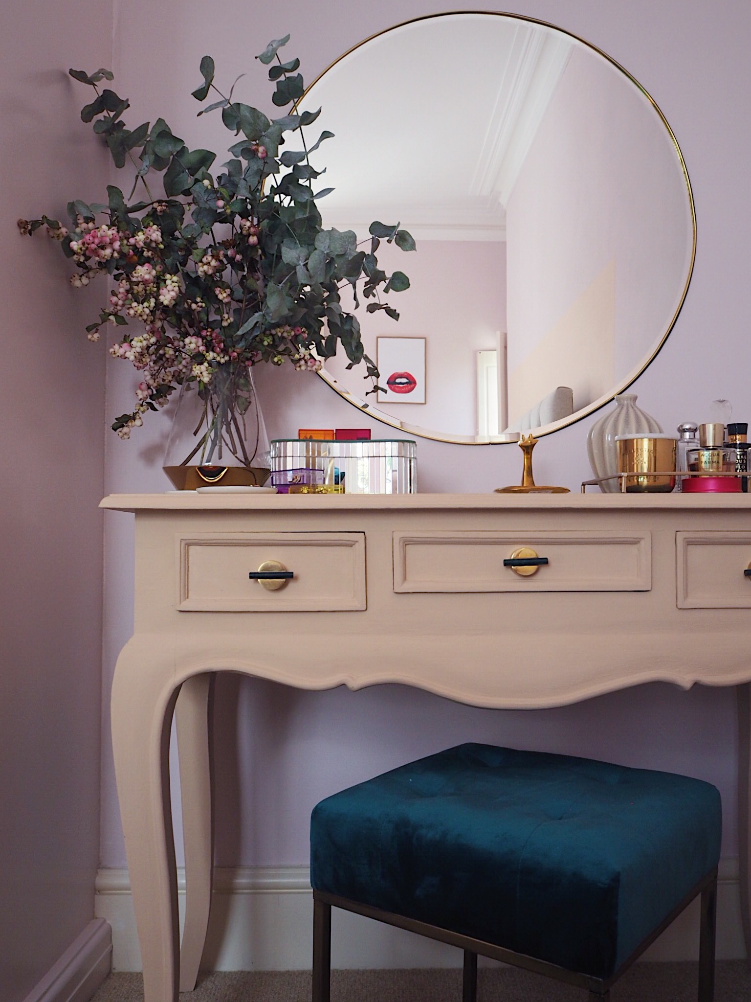 Diy Large Brass Trim Circular Mirror Melanie Lissack Interiors