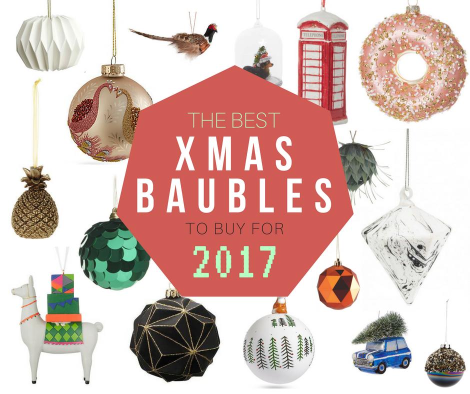 best xmas tree baubles to buy in 2017