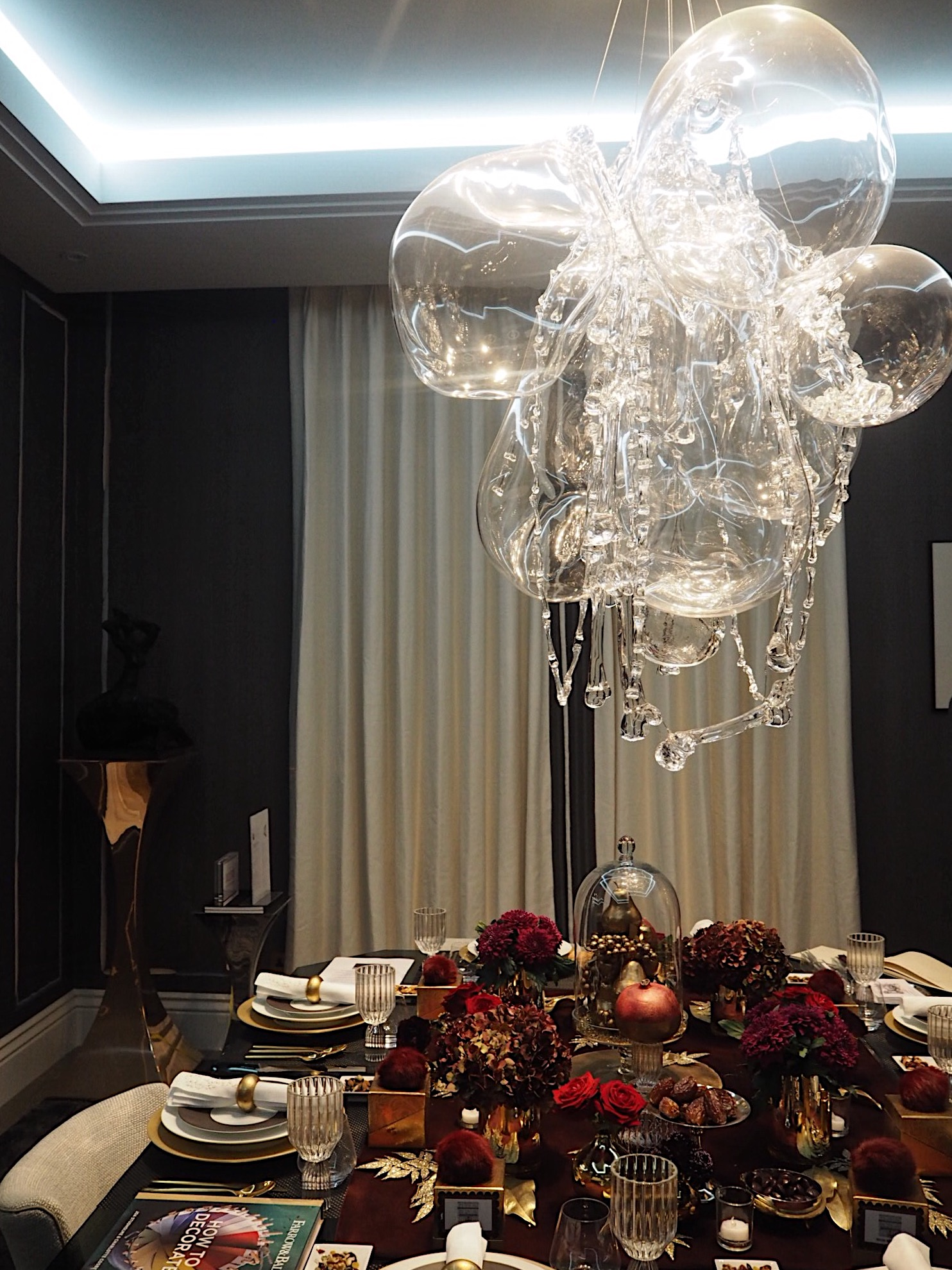 This voluptuous, glamorous room is by the Co-Chair and Creative Director of Holiday House London, Rachel Laxer.