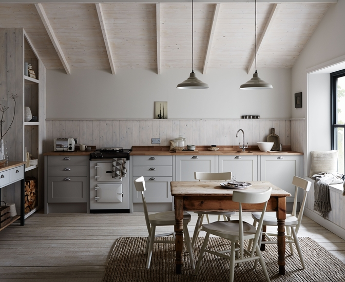 This is the Allendale Kitchen by Howdens