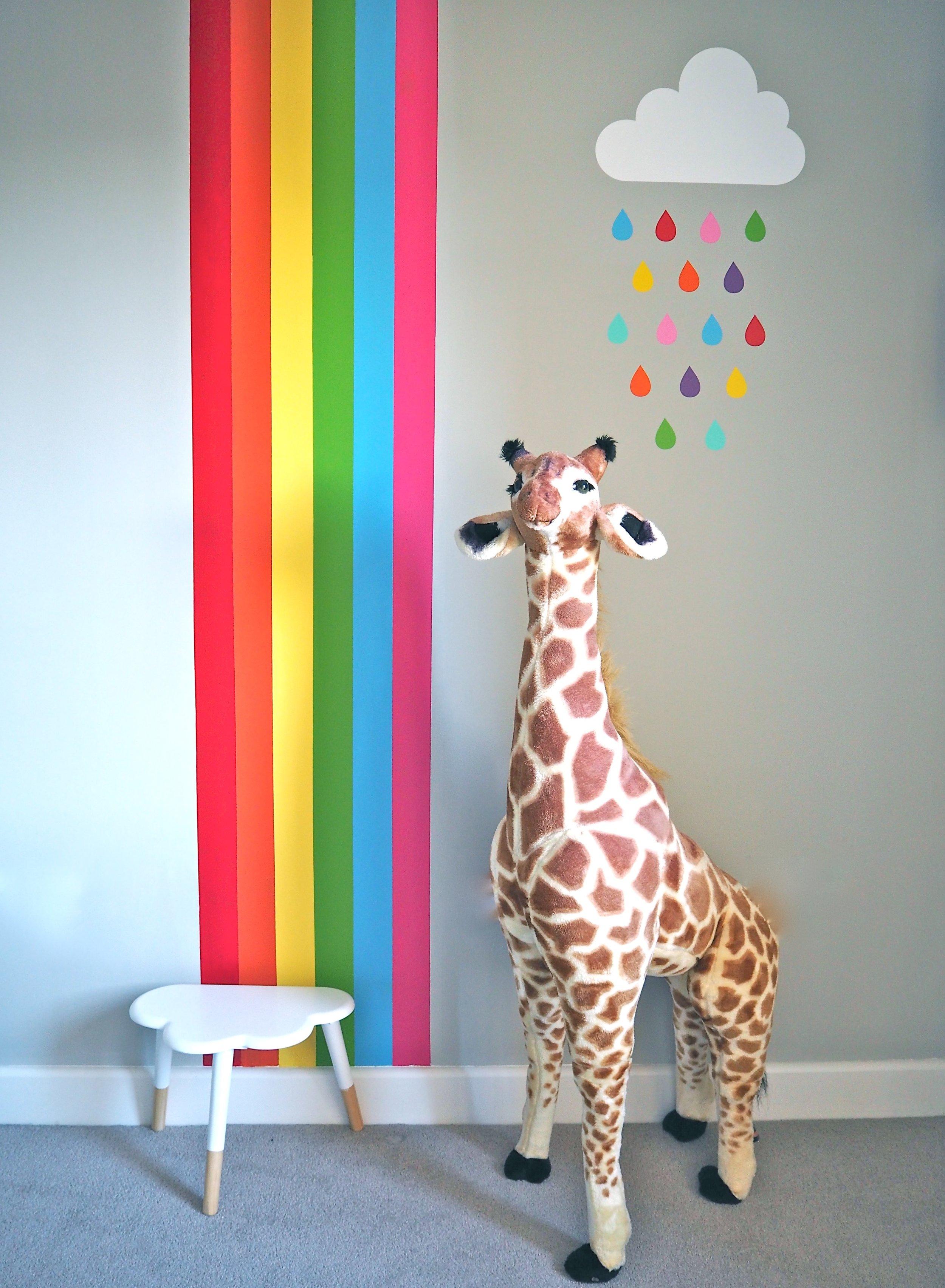 painted rainbow
