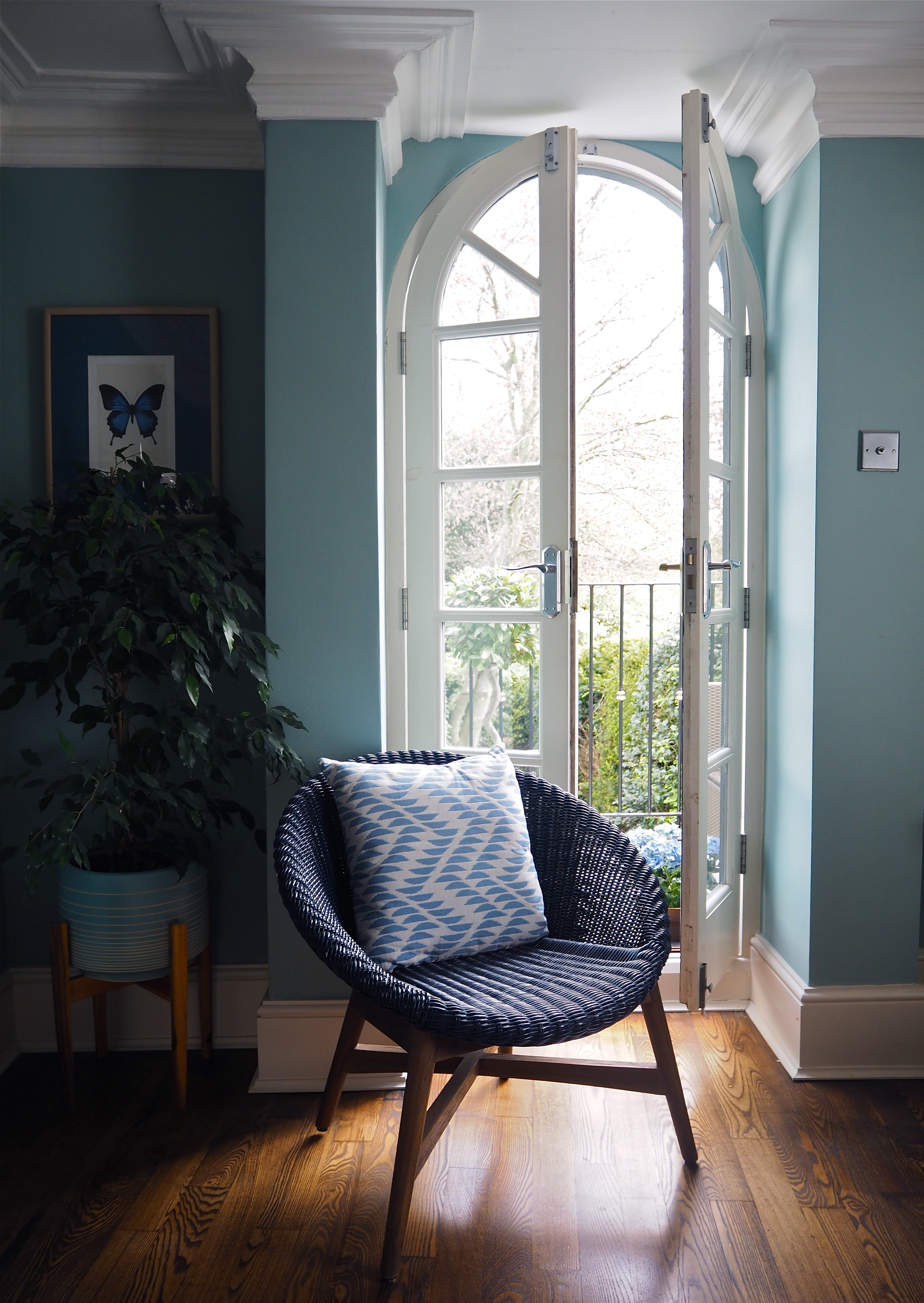 marks & spencer wicker garden chair
