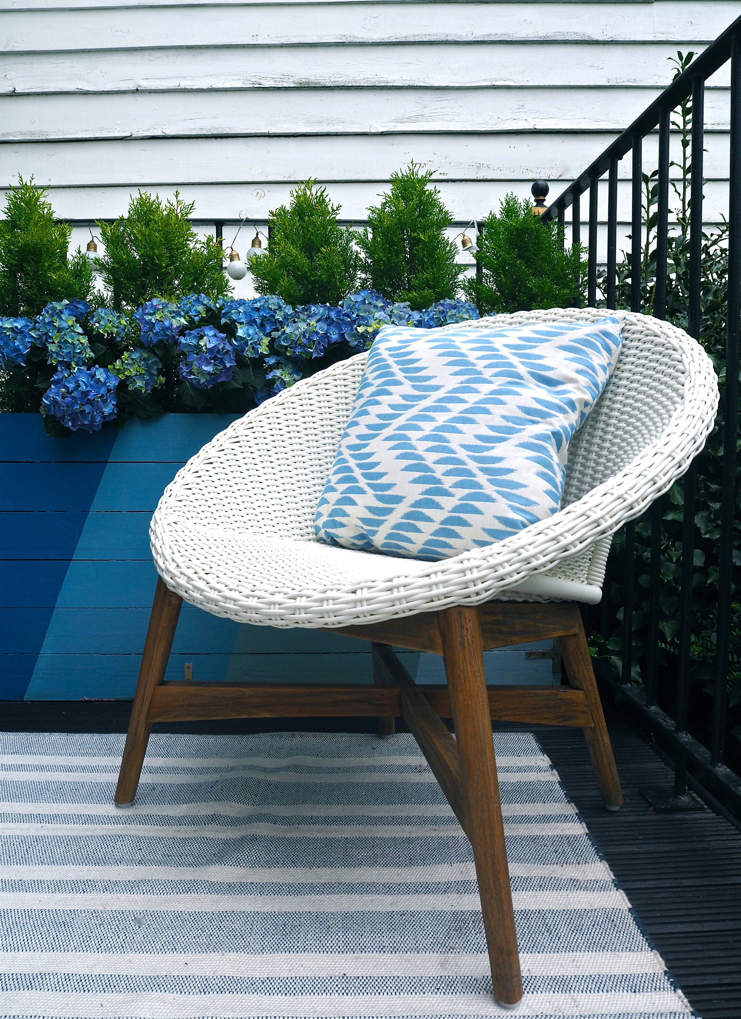 Blue Hues: Bringing The Inside Out With Garden Furniture From