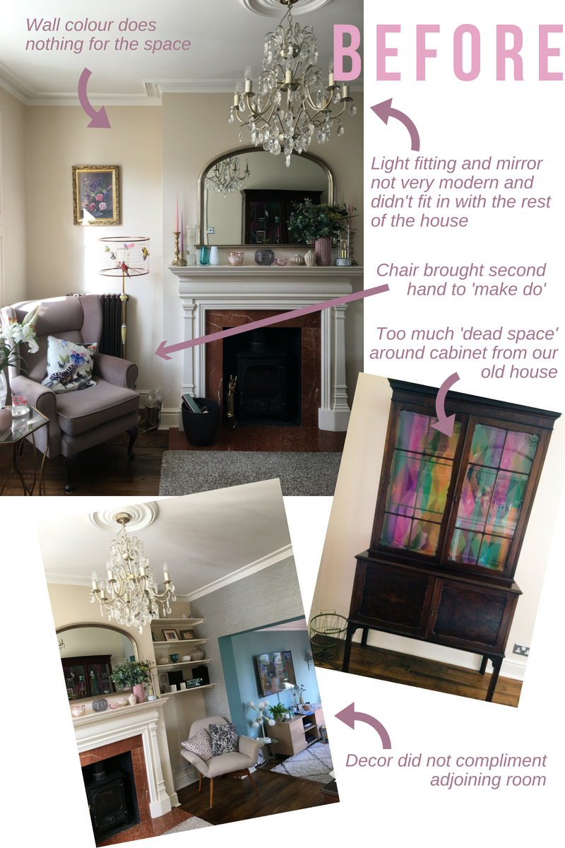 revamp restyle reveal living room reveal