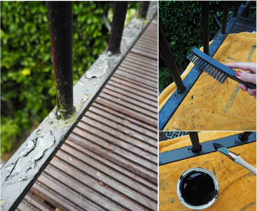 Sandtex exterior metal paint