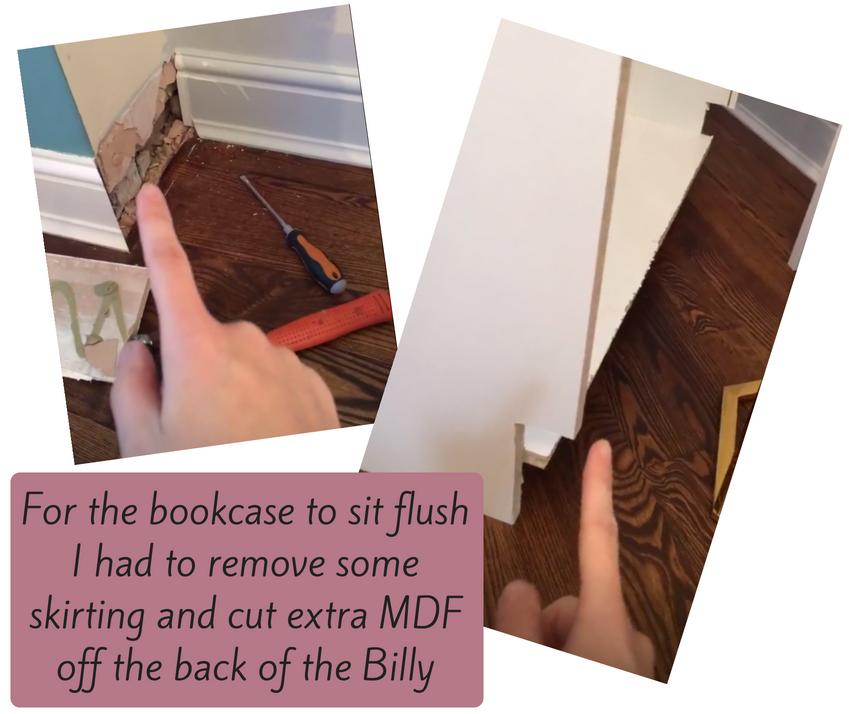 billy bookcase hack