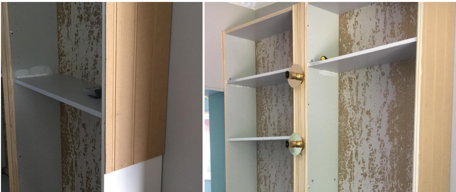 best service 9d65d 7c3a0 How I Created My Ikea Billy Bookcase Shelving Hack — MELANIE ...