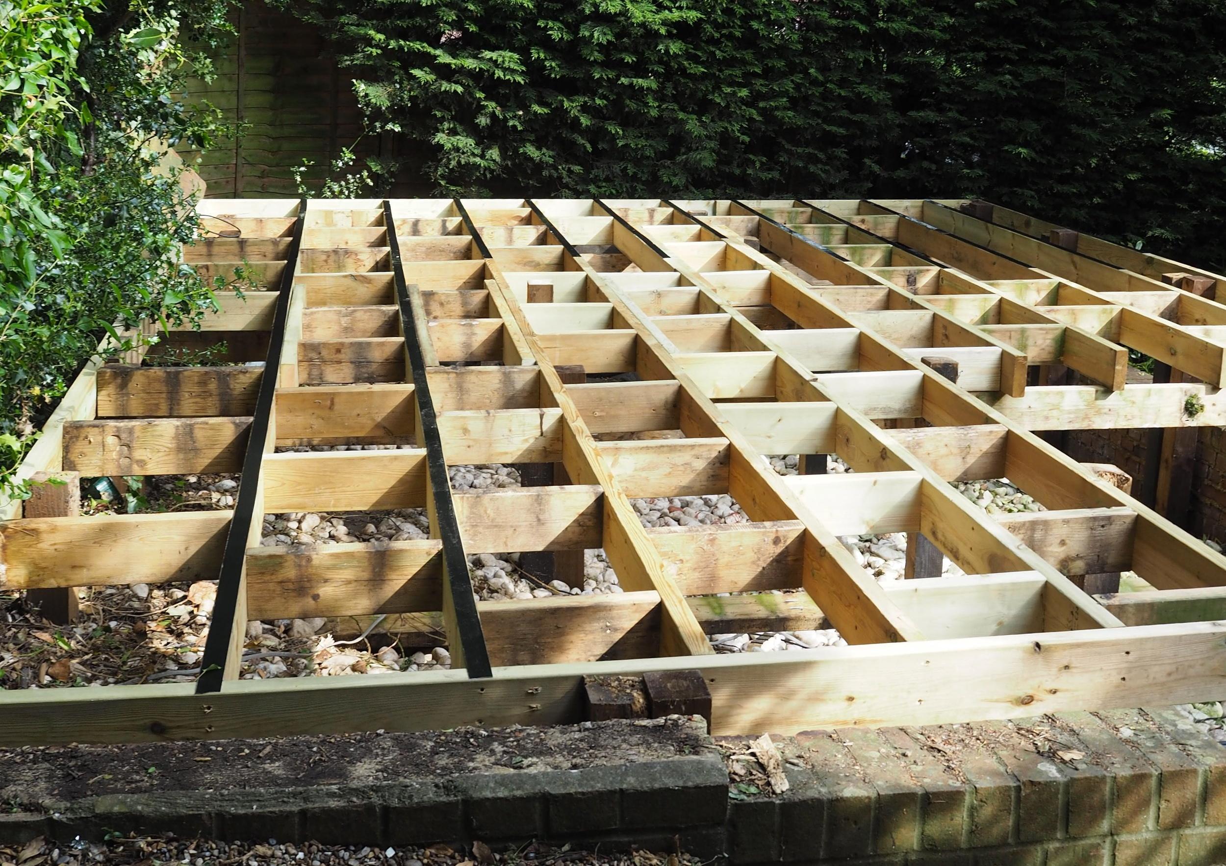 Trex Transcend Deck Build