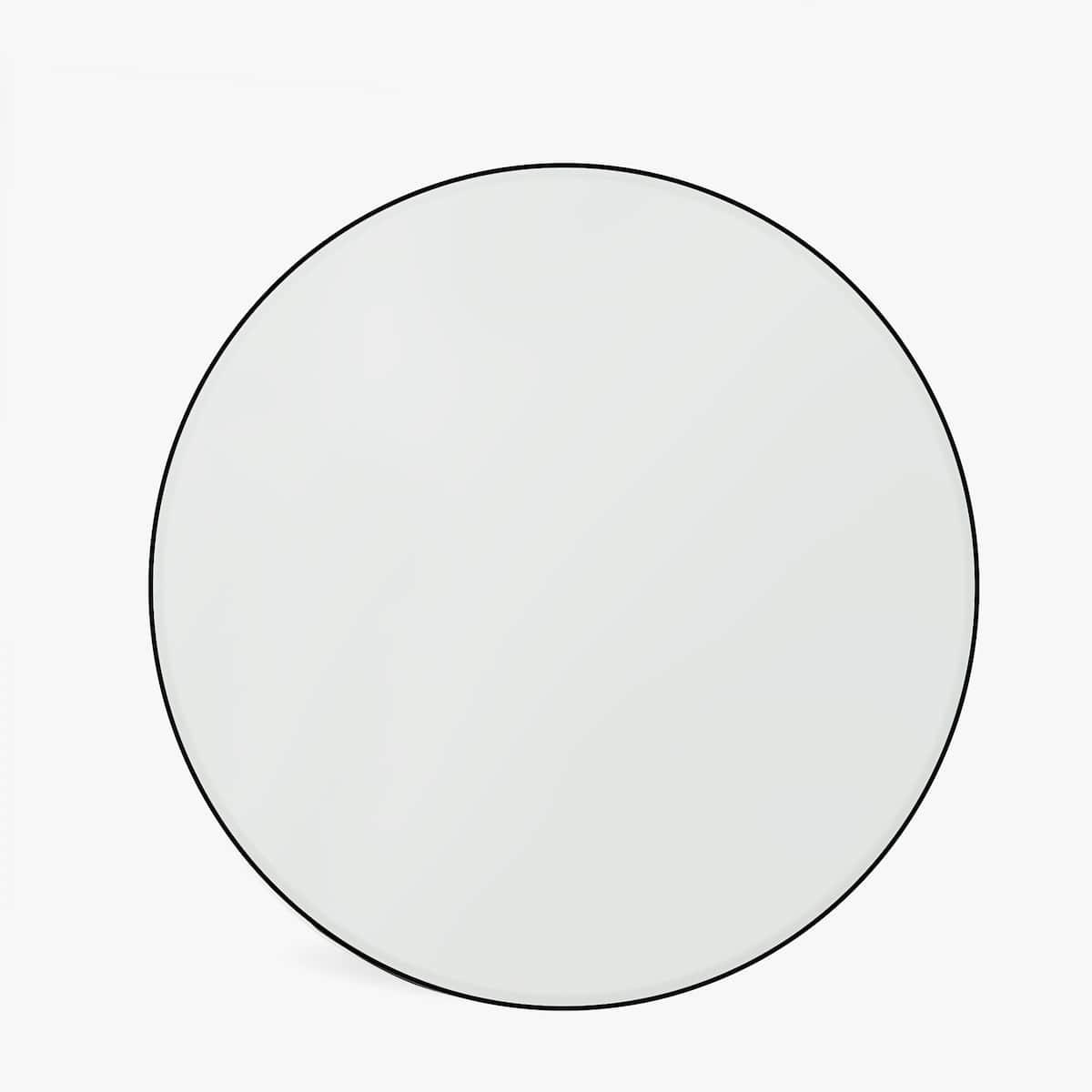 Black rim large mirror    - £79.99