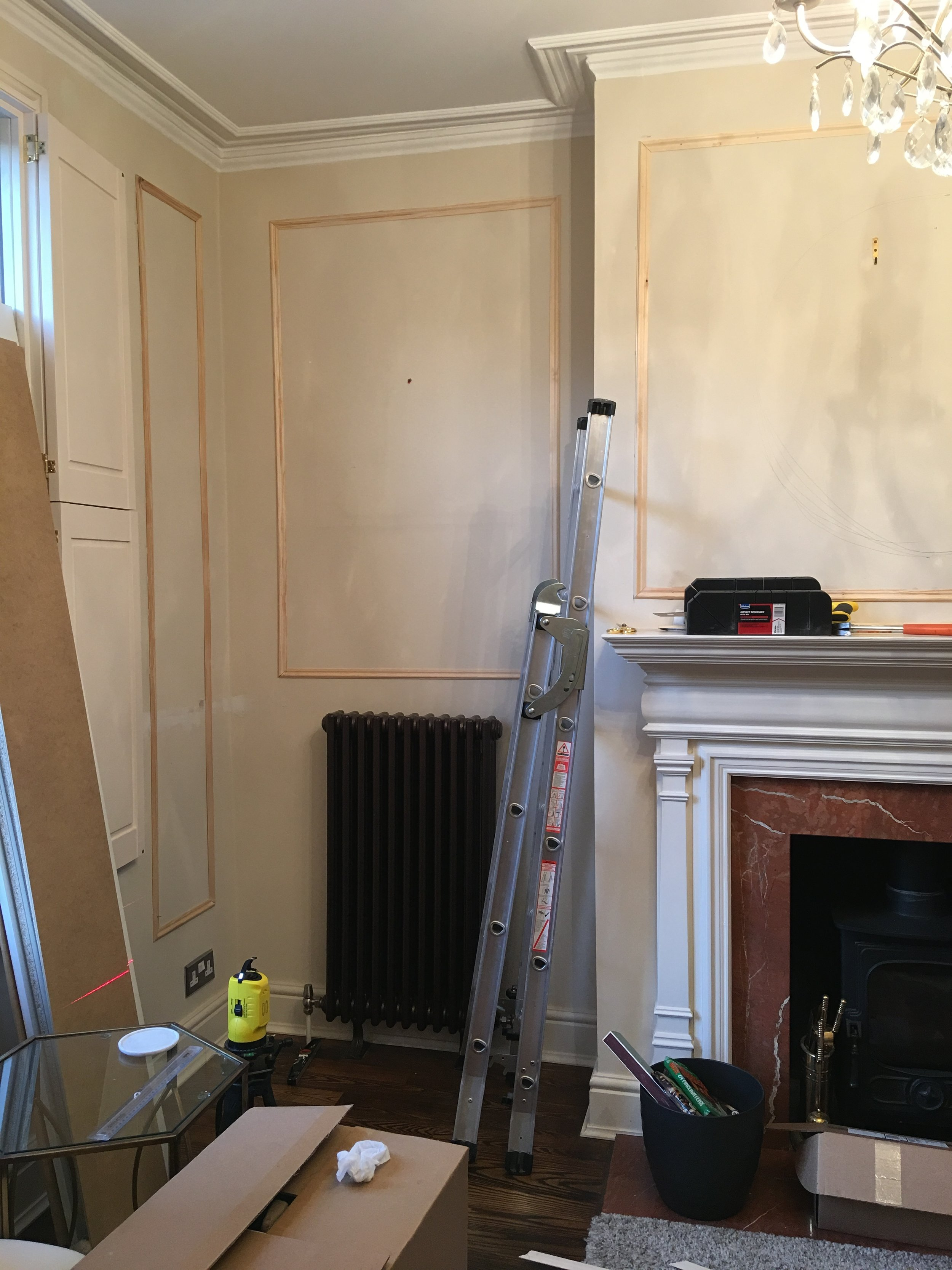 How To Easily DIY Wall Panelling In Your Home — MELANIE ...