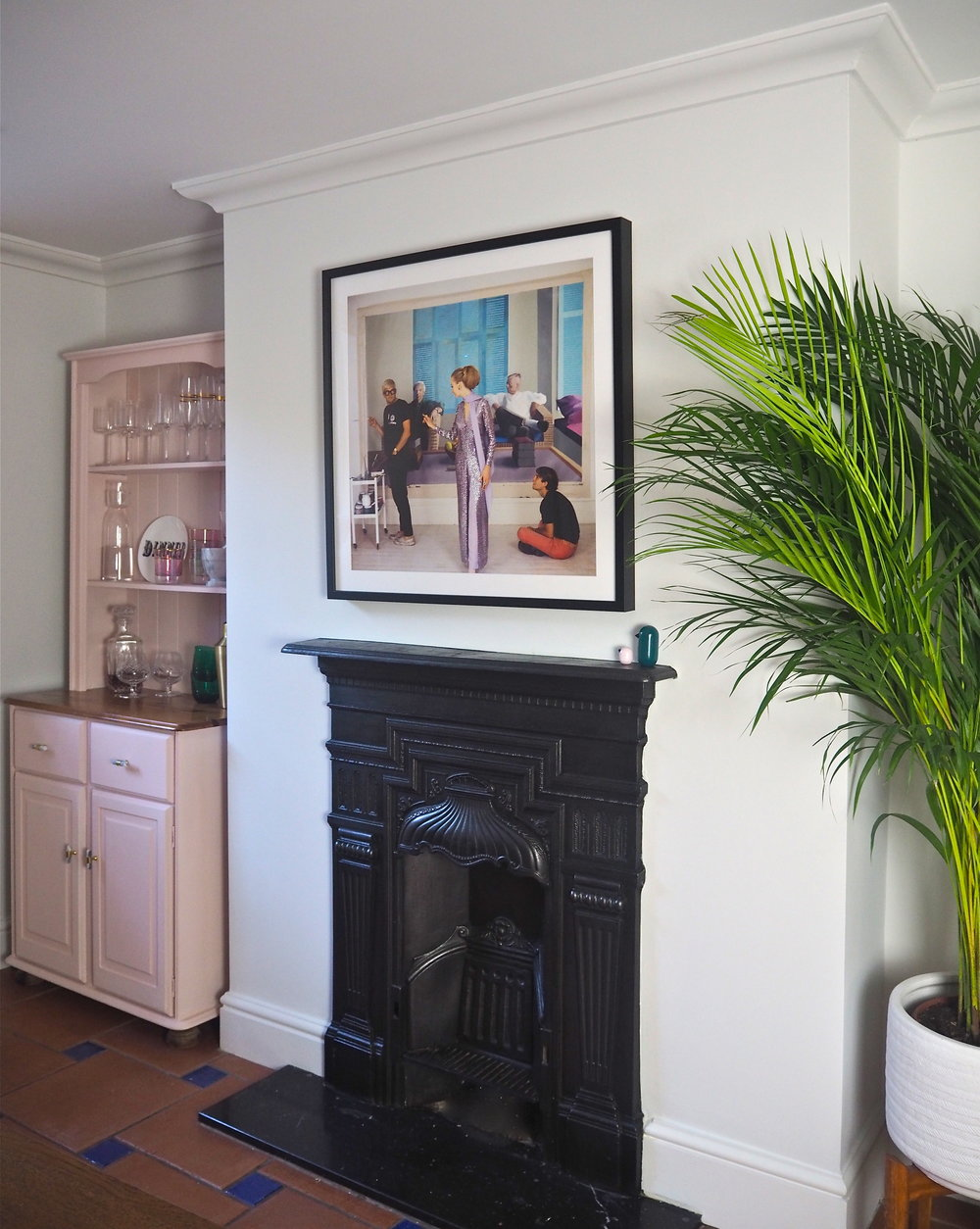 Cast Iron Fireplace, Black Paint For Metal Fireplace Surround