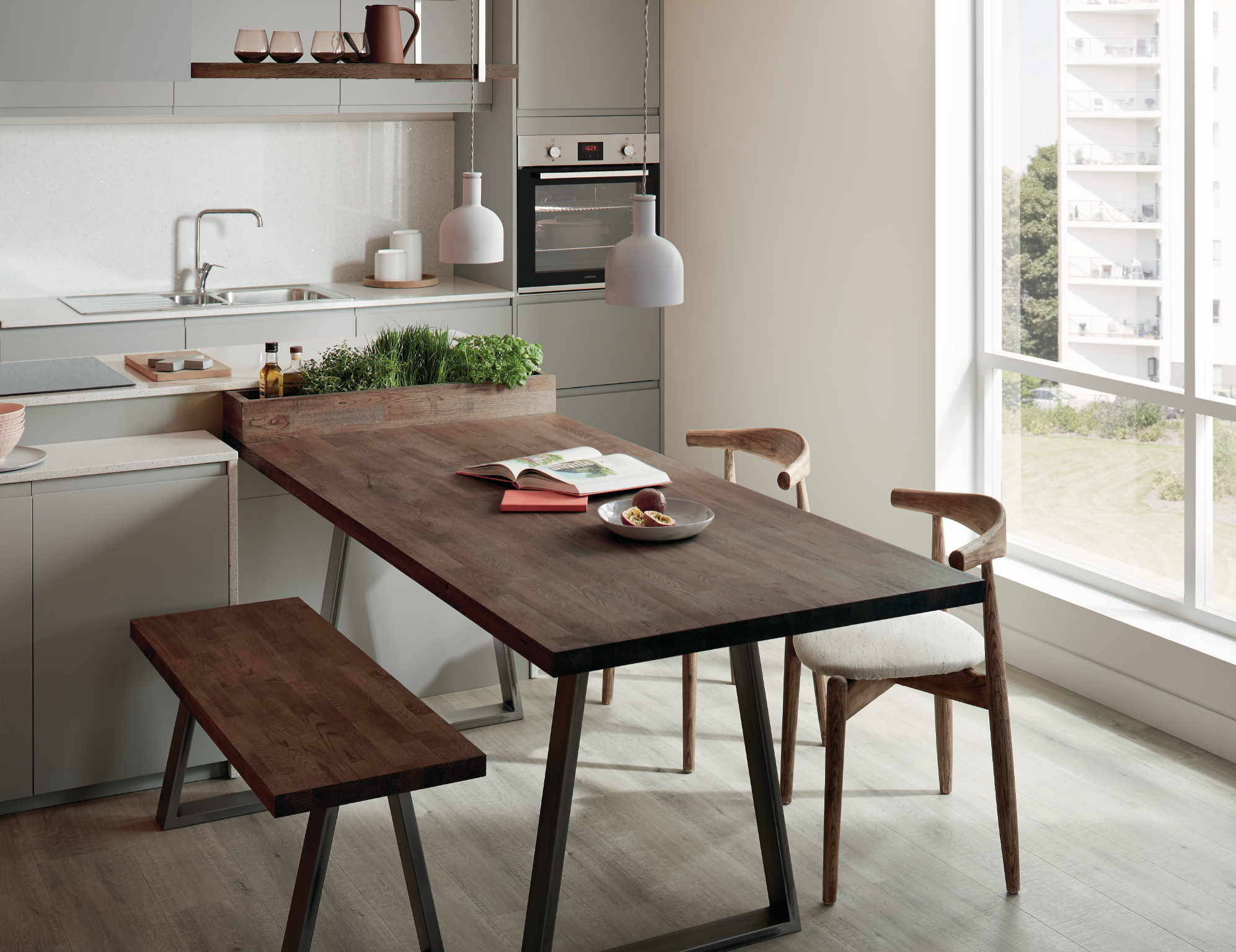 Howdens Urban Wild Kitchen Trend