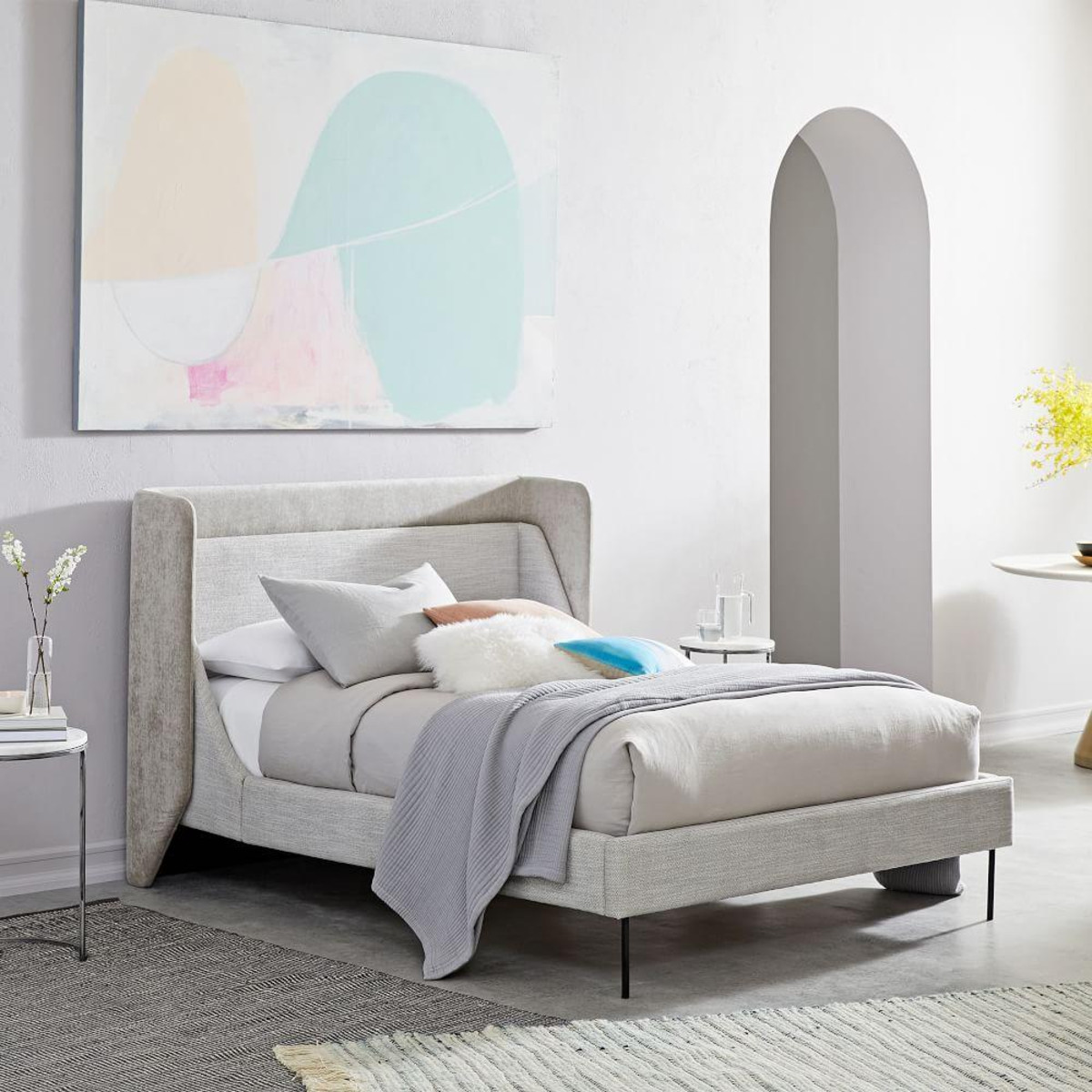 Thea wing bed by West Elm
