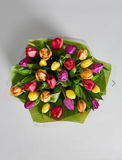Large Spring Tulip Gift Bag