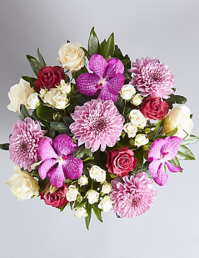 The Collection Luxury Orchid Bouquet