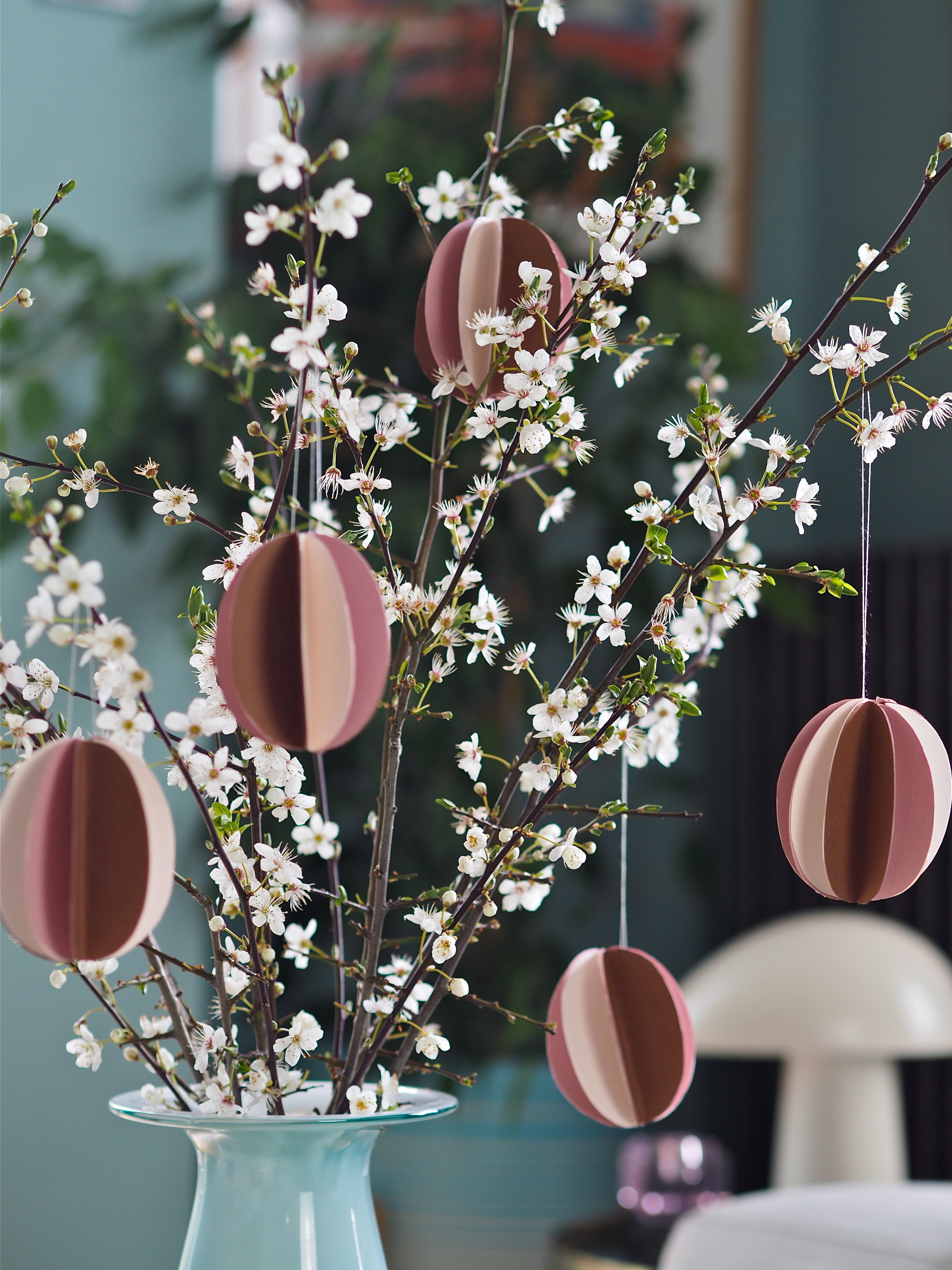 3D Easter Tree Paper Decorations