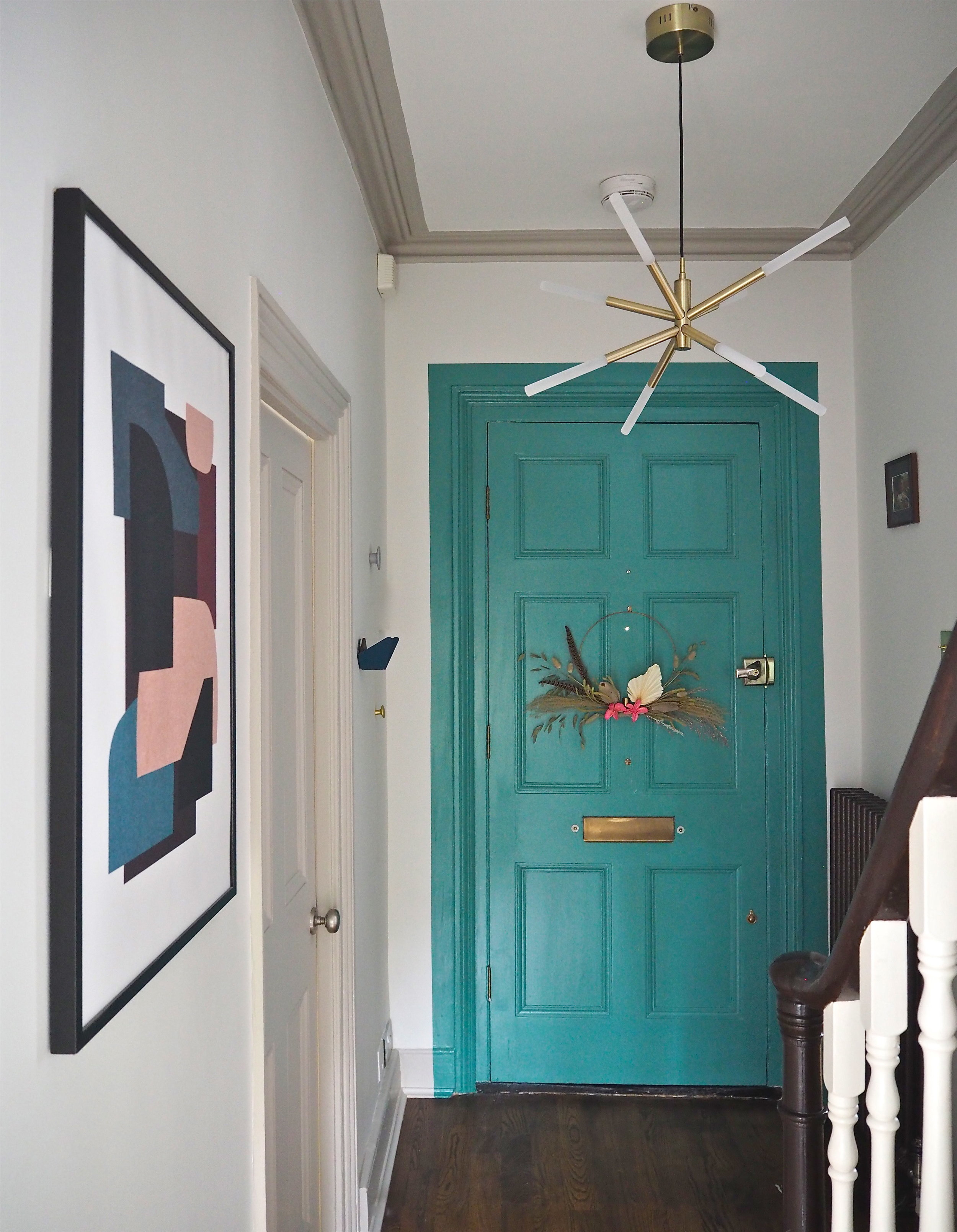 hallway makeover with m and l paints