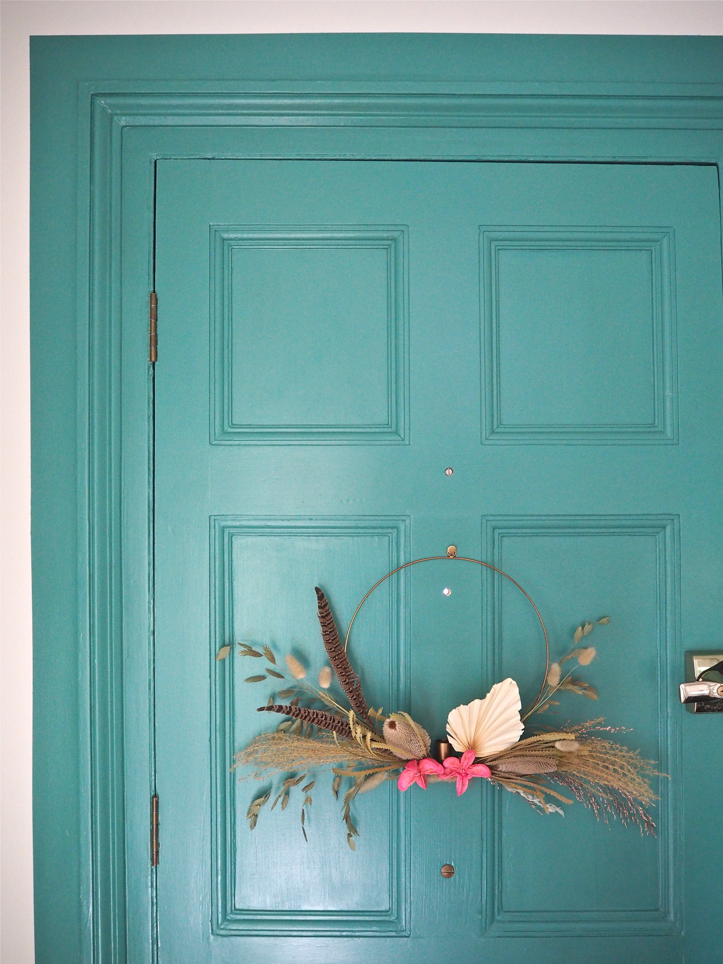 how to make a door look larger with paint