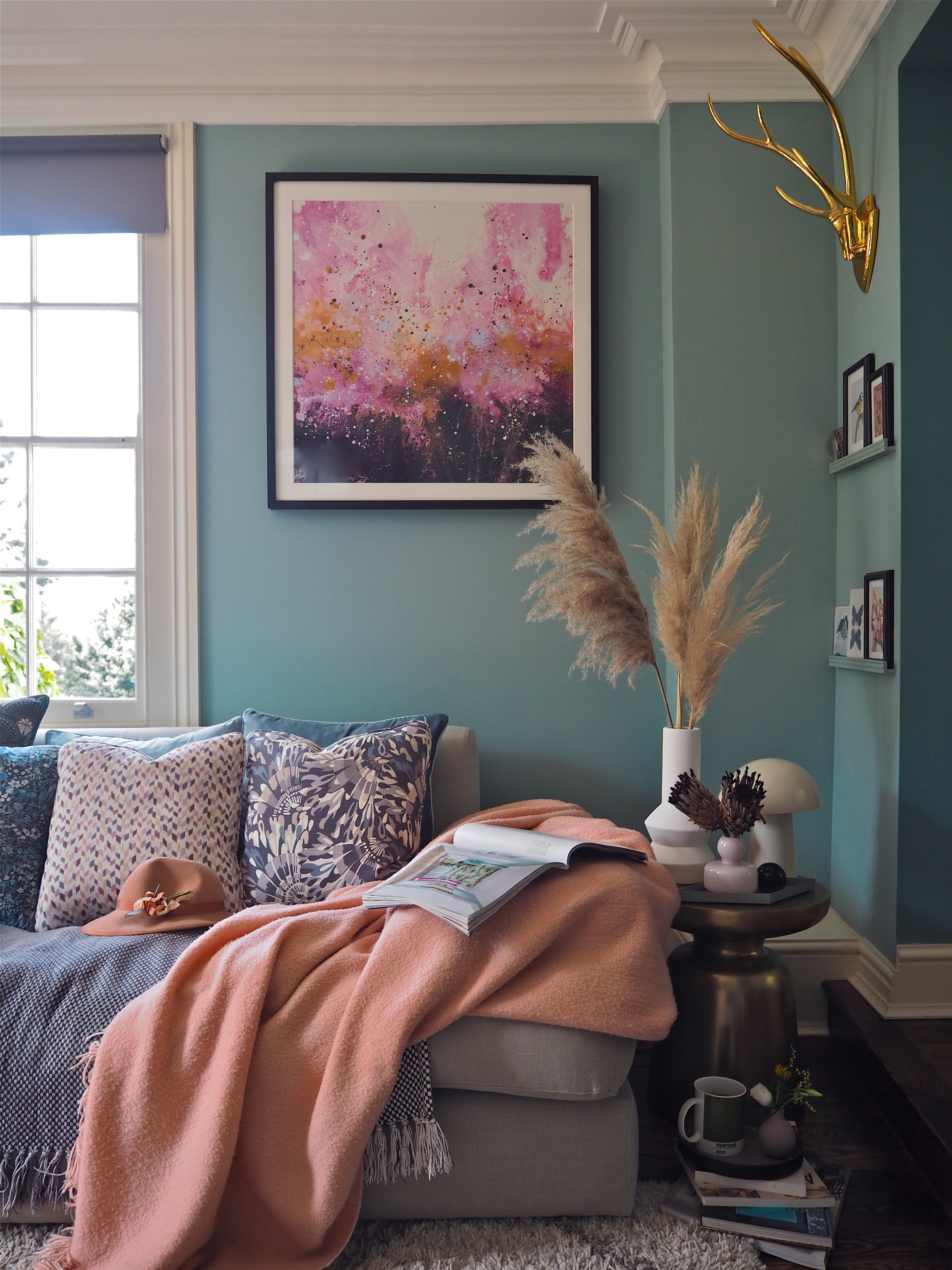 How to add colour in your home using art