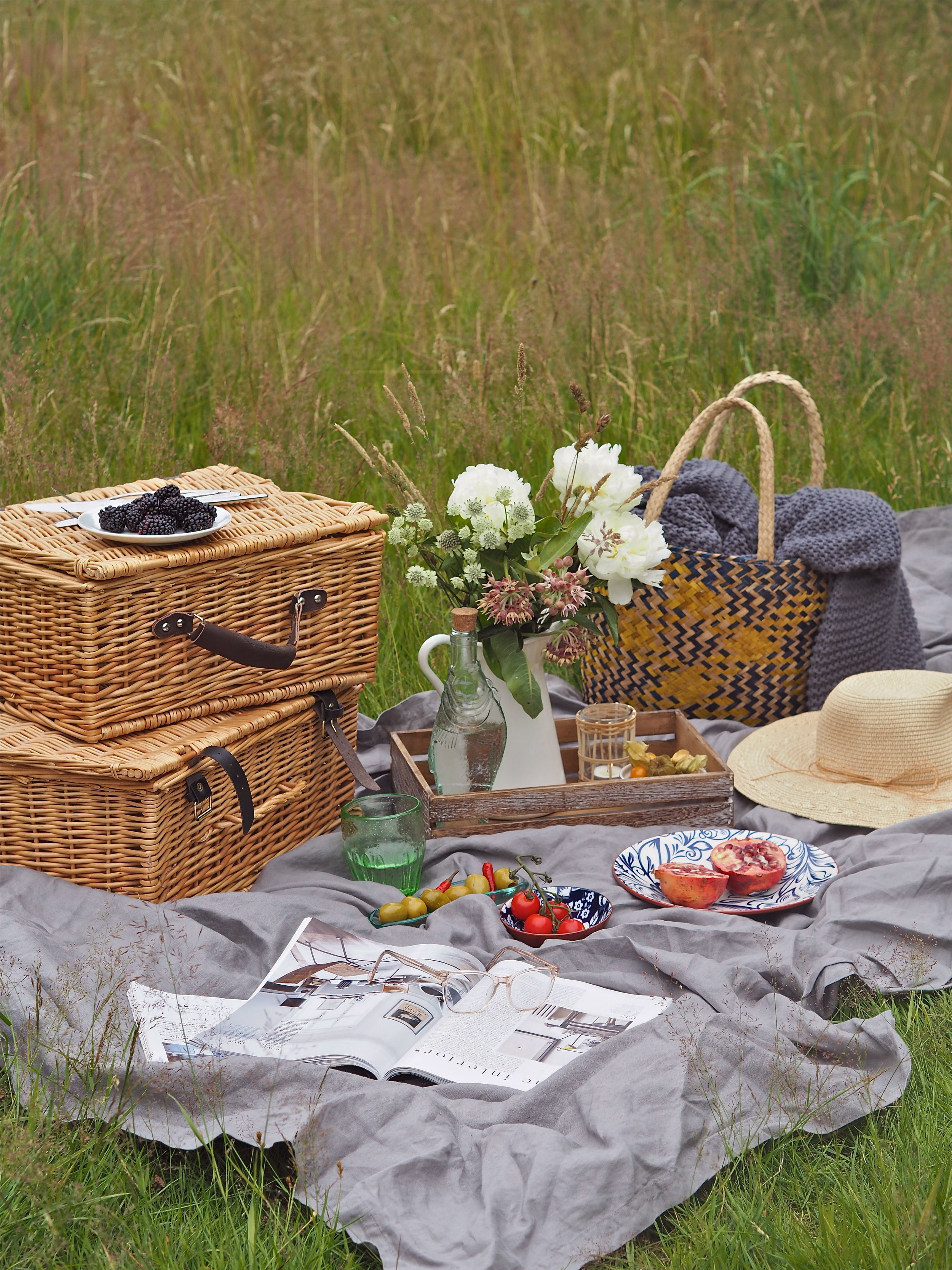 summer picnic with Grand Illusions