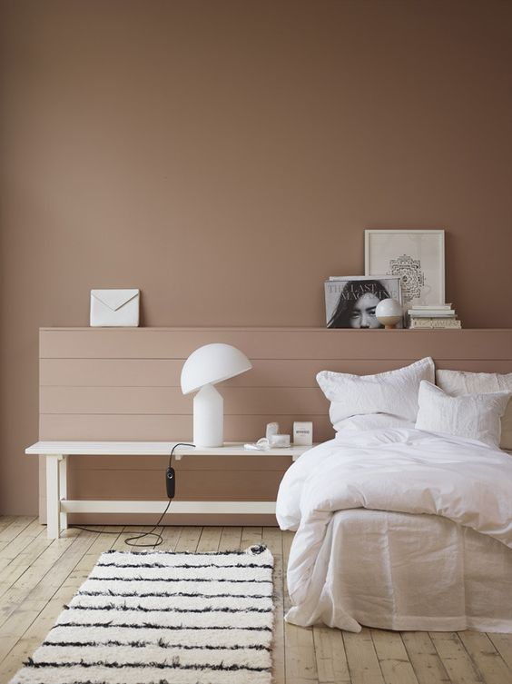 Scandi paint brand Jotun Lady is an extremely flat matt emulsion paint. Image credit:    Jotun Lady.