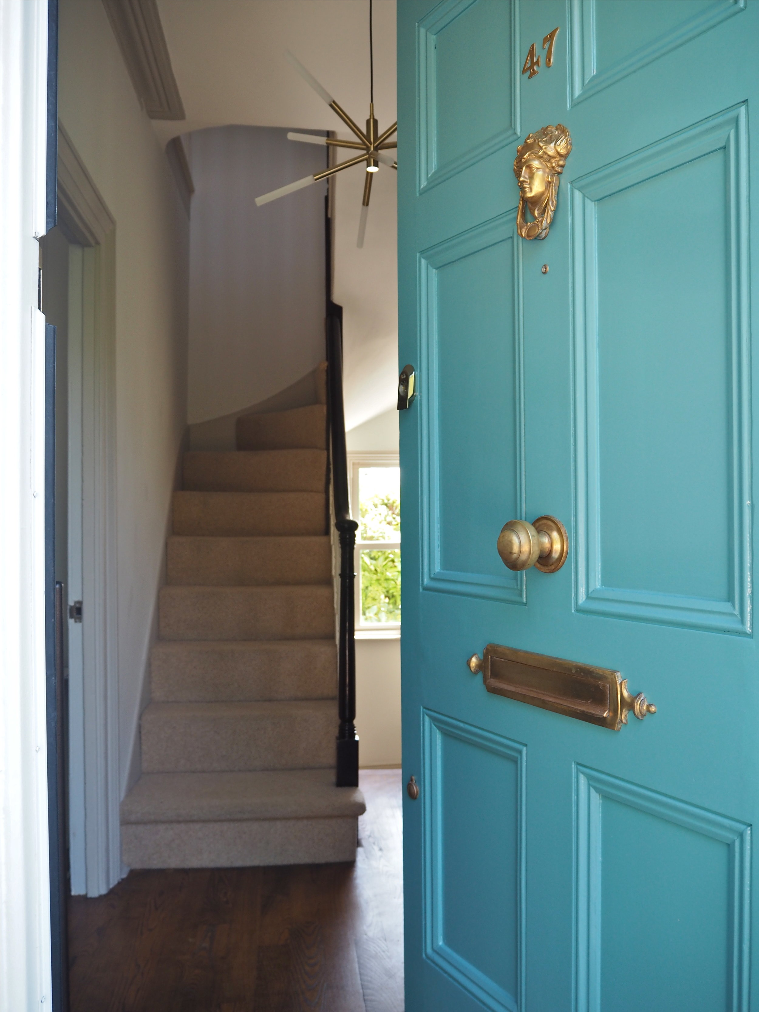 m and l paints full gloss front door