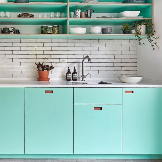 Pluck London    do a great job of bringing neo-mint into the home in a way that really works.