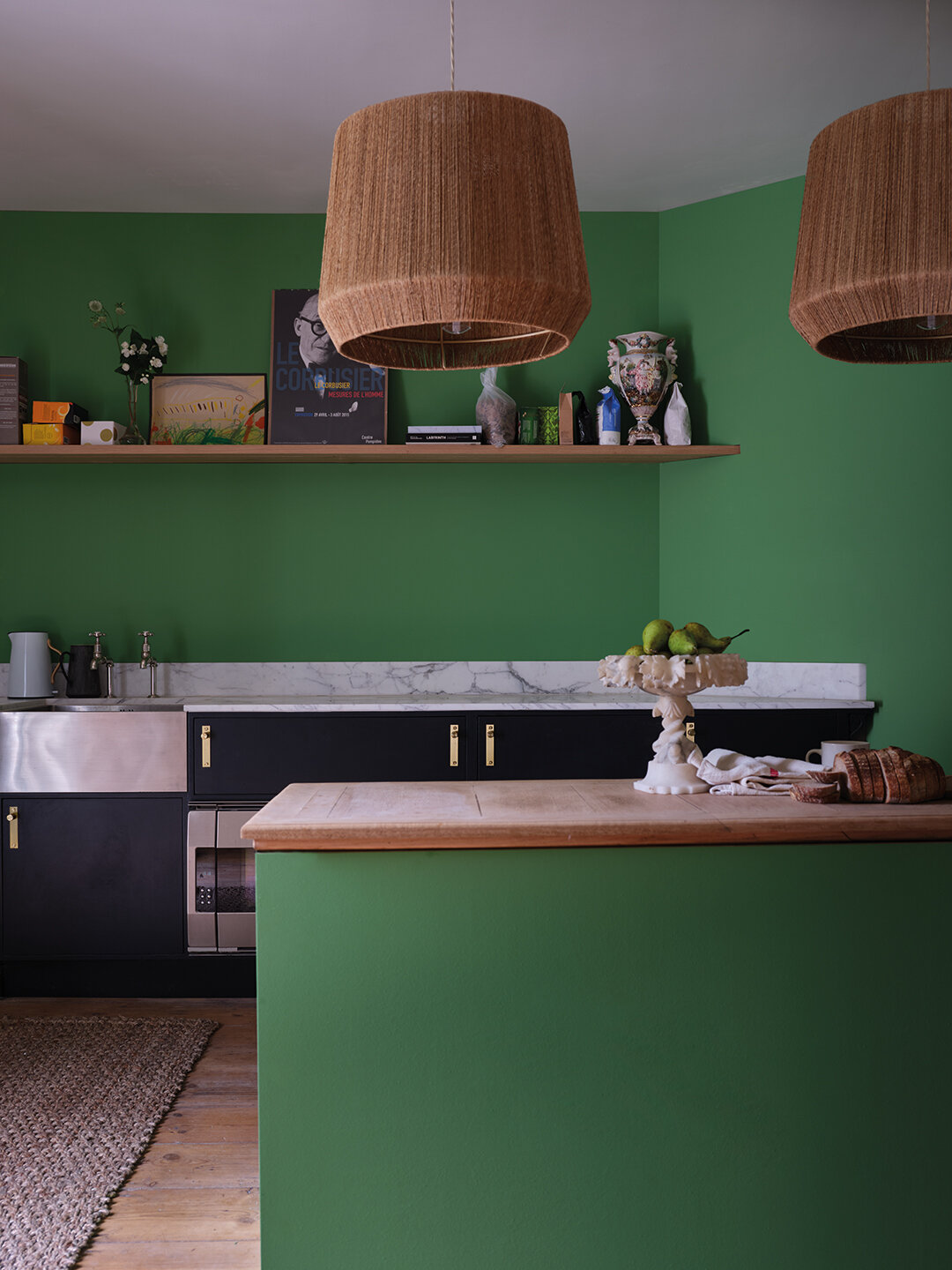Farrow & Ball 'Verdigris Green'. Image Credit: Farrow & Ball