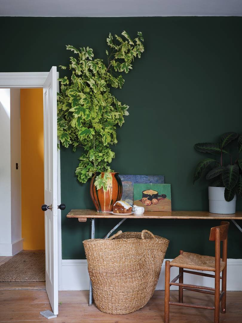 Farrow & Ball 'Duck Green'. Image Credit: Farrow & Ball
