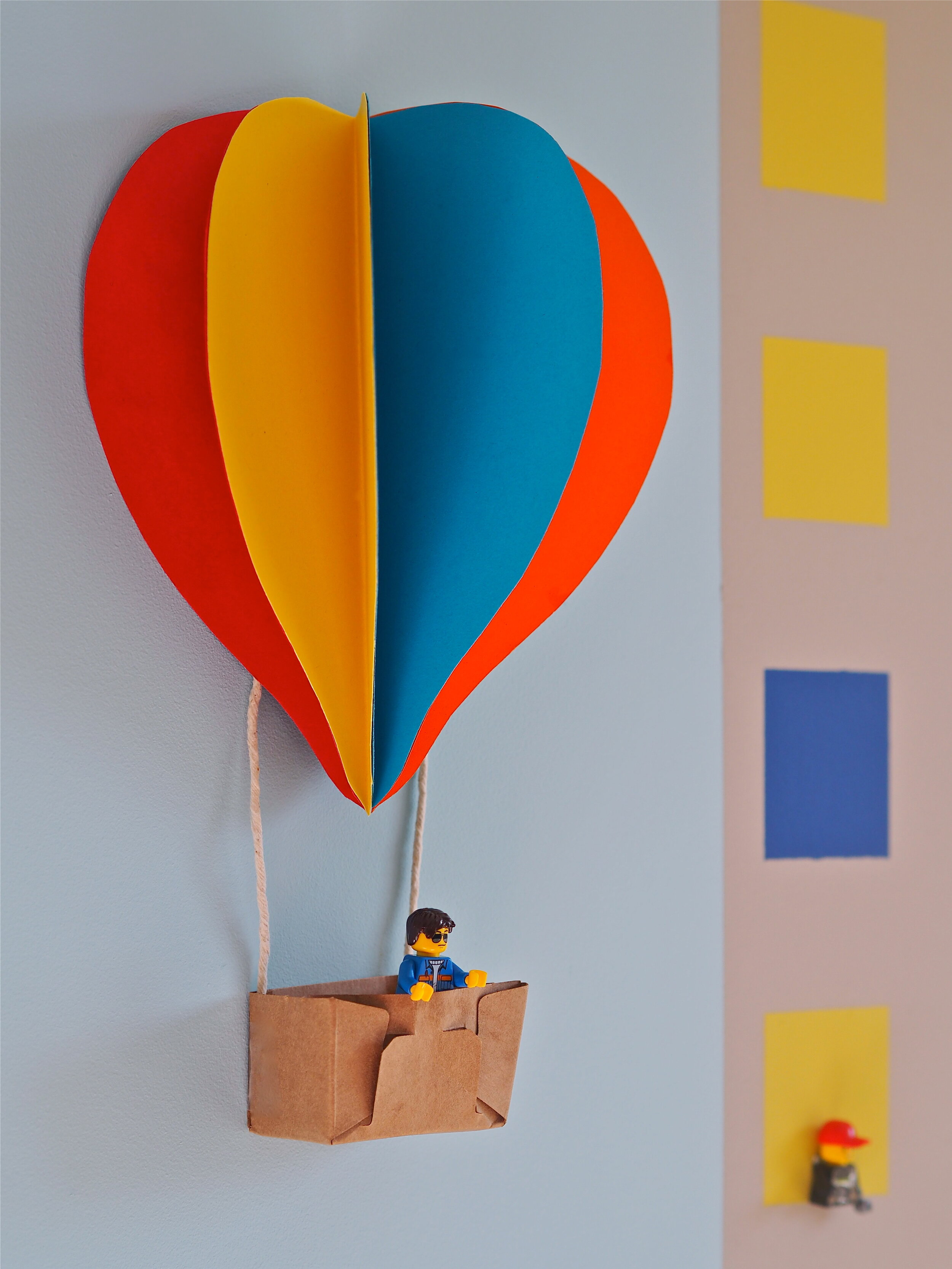 diy hot air ballon kids room