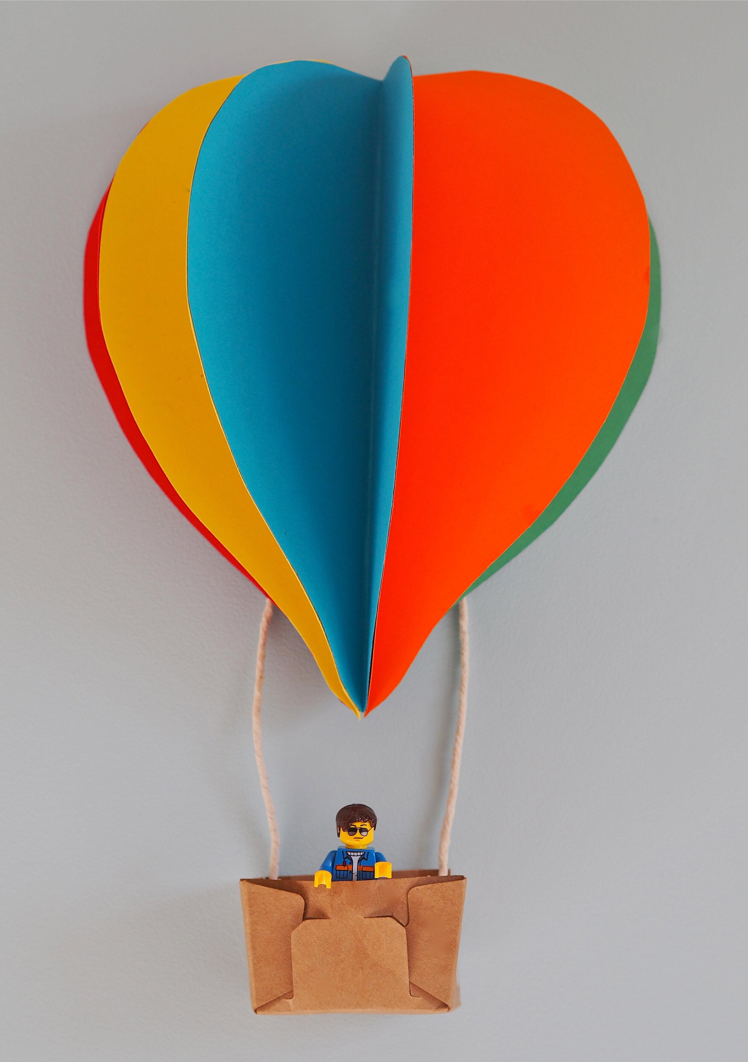 lego hot air ballon