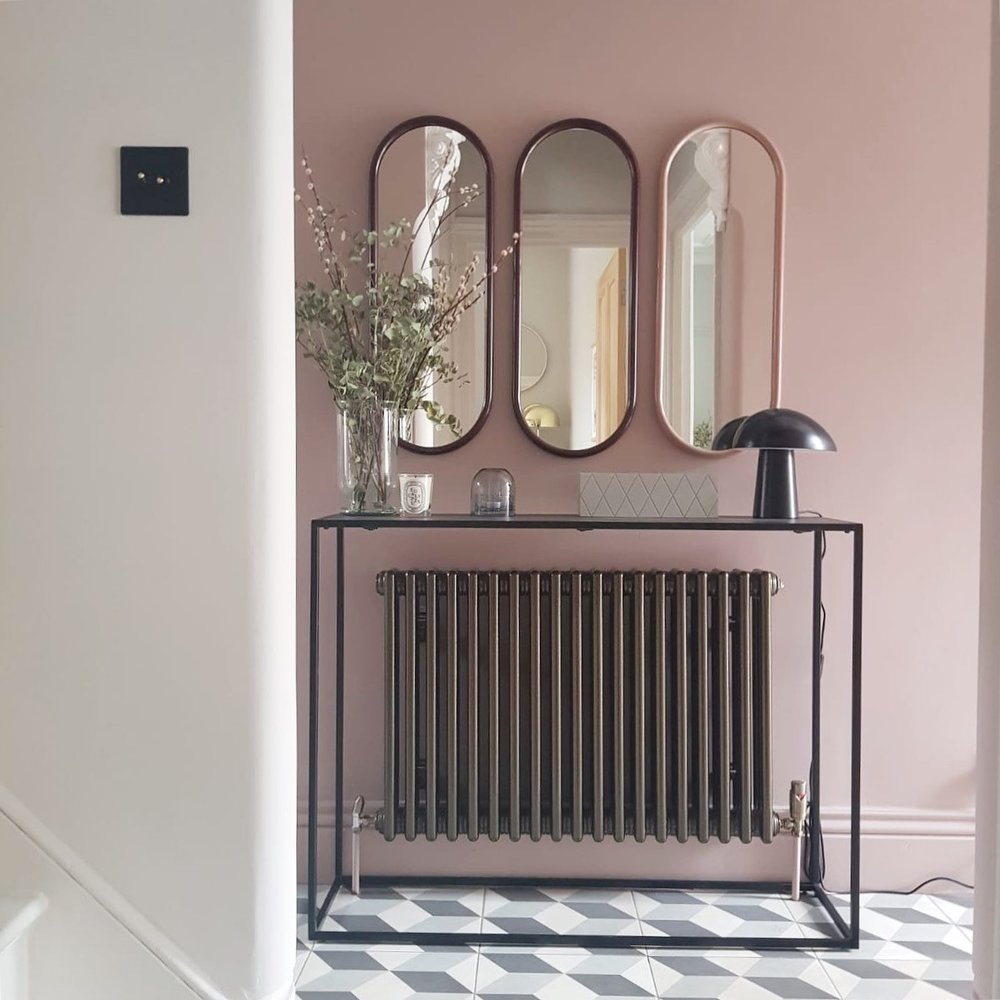 The perfect shade of pink? Little Greene's Light Peach Blossom in the  home of interior designer Heather Milner.
