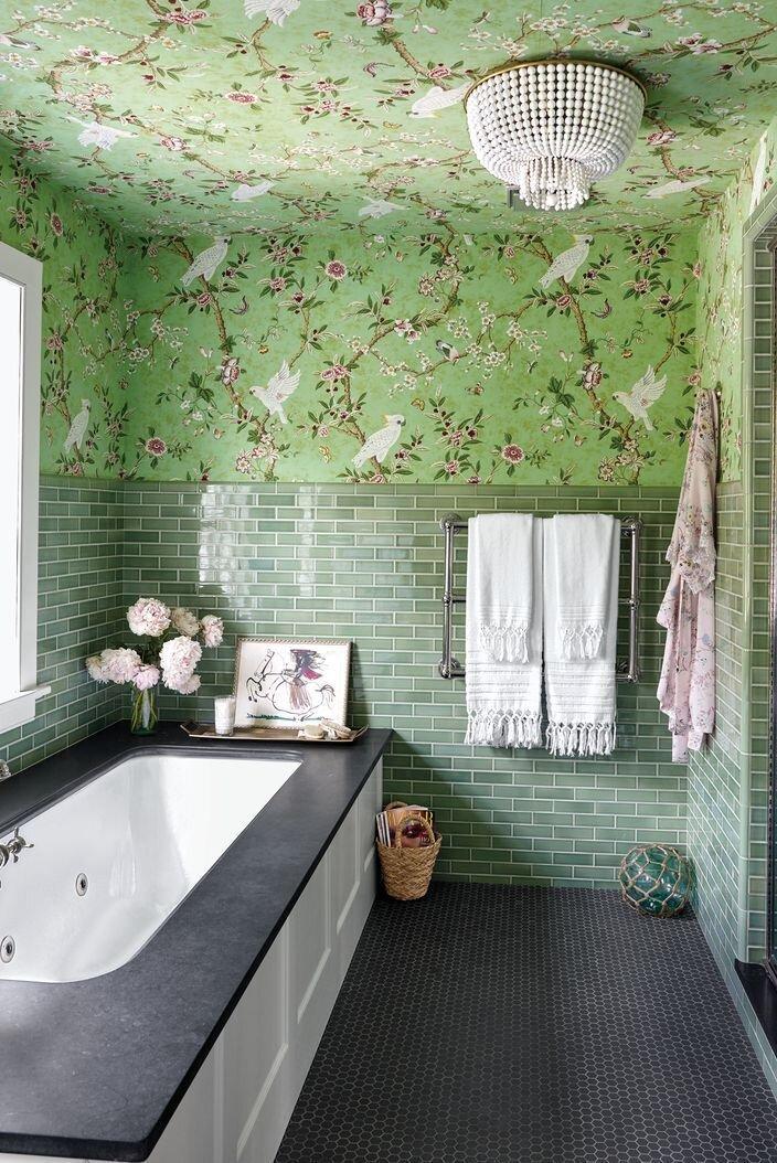 Can I Wallpaper A Bathroom Melanie, Wallpaper For Bathroom Walls