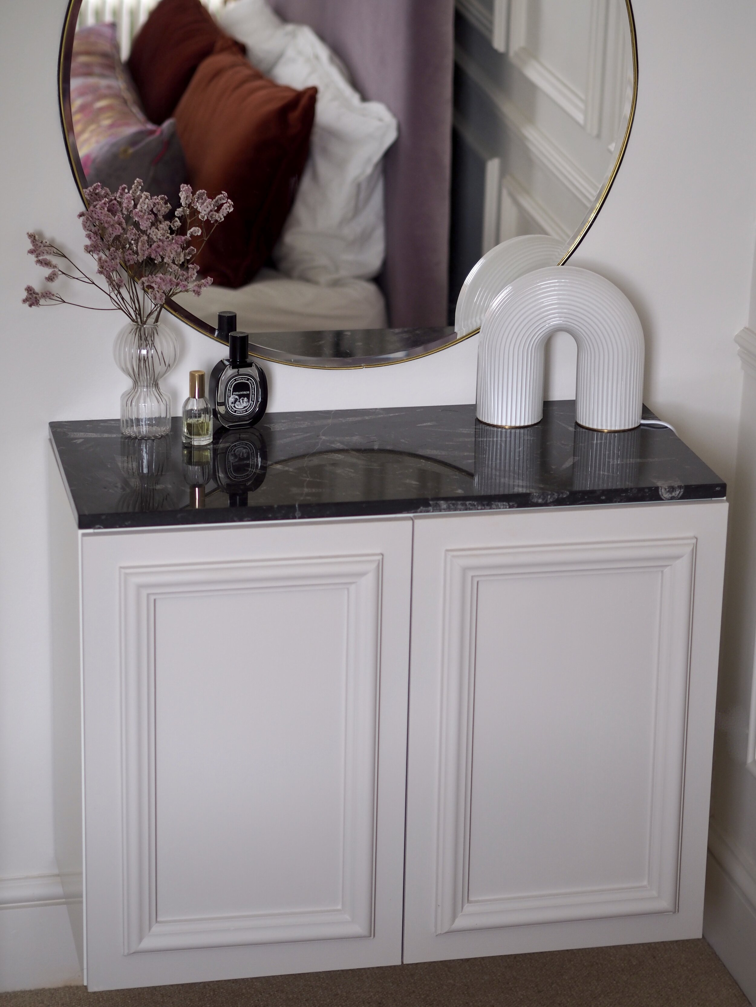 Diy Floating Dressing Table Ikea Hack Melanie Lissack Interiors