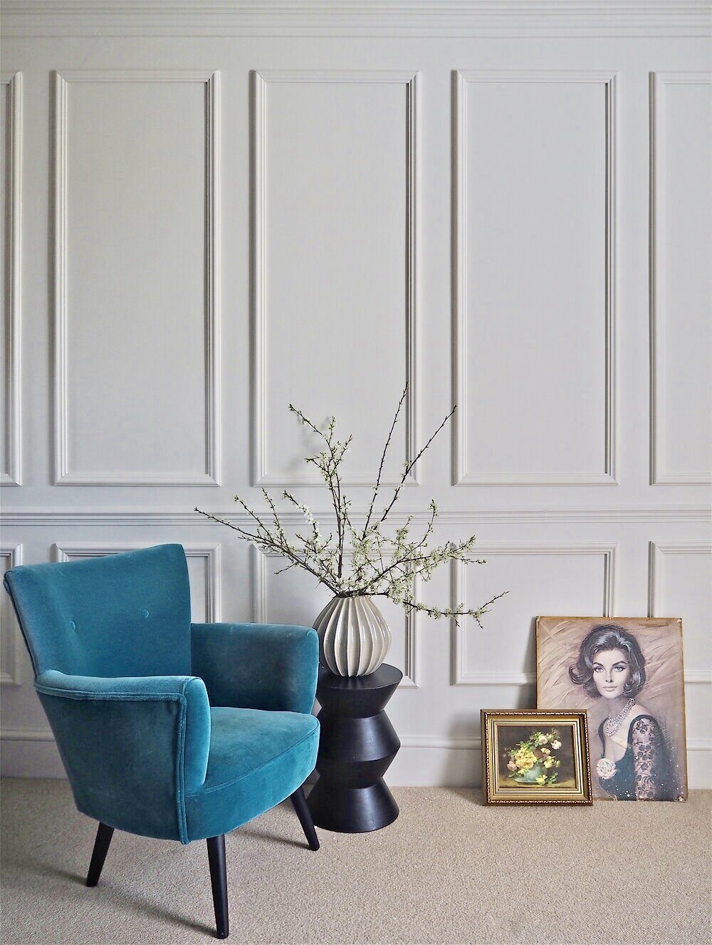 Diy This Parisian Style Wall Panelling, Wall Panels For Living Room