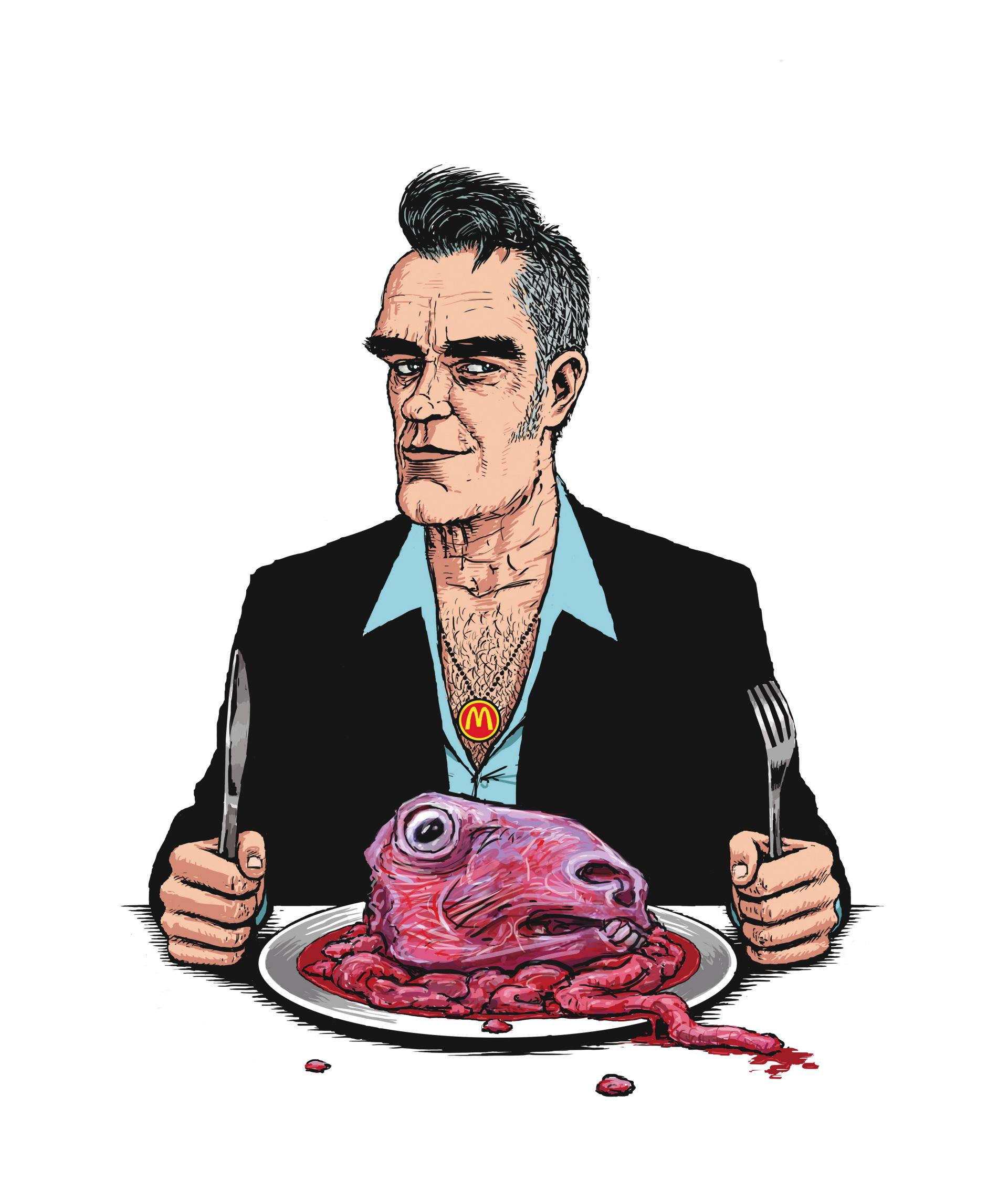 Morrissey dinner time.jpg
