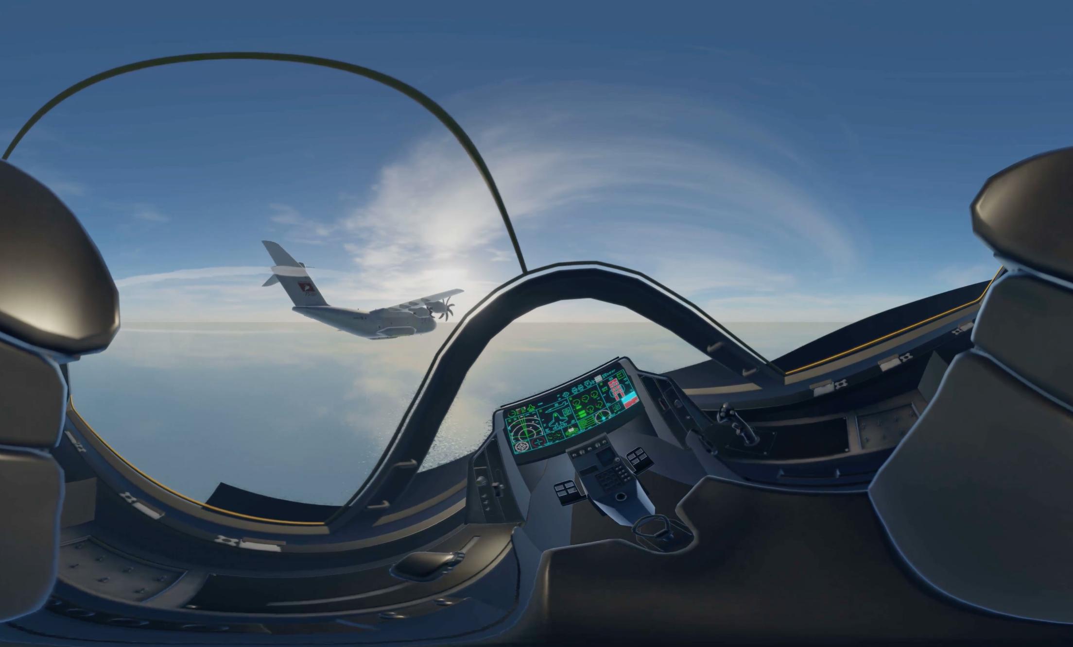 RAF VR EXPERIENCE