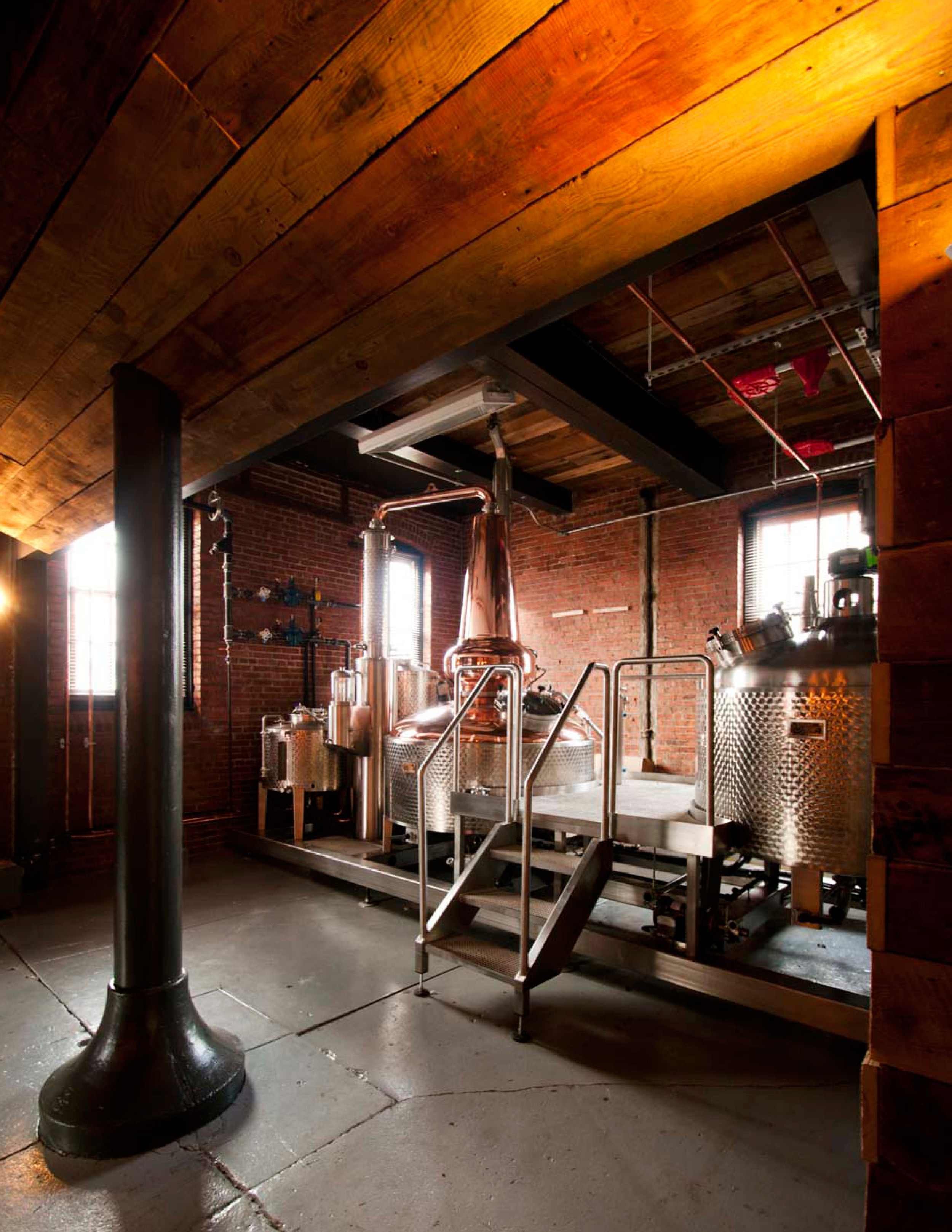 Crane Stable Distillery | Industrial Renovation