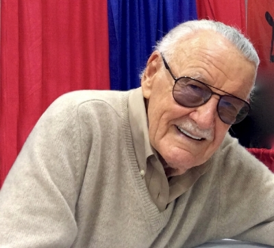 Stan Lee at the Cincinnati Comic Expo, September 24, 2016