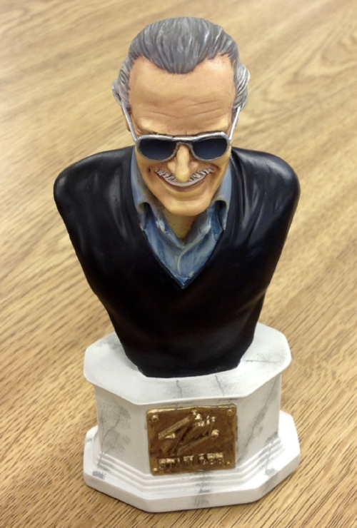 Stan Lee Mini-Bust, Stan Lee Papers, American Heritage Center, University of Wyoming