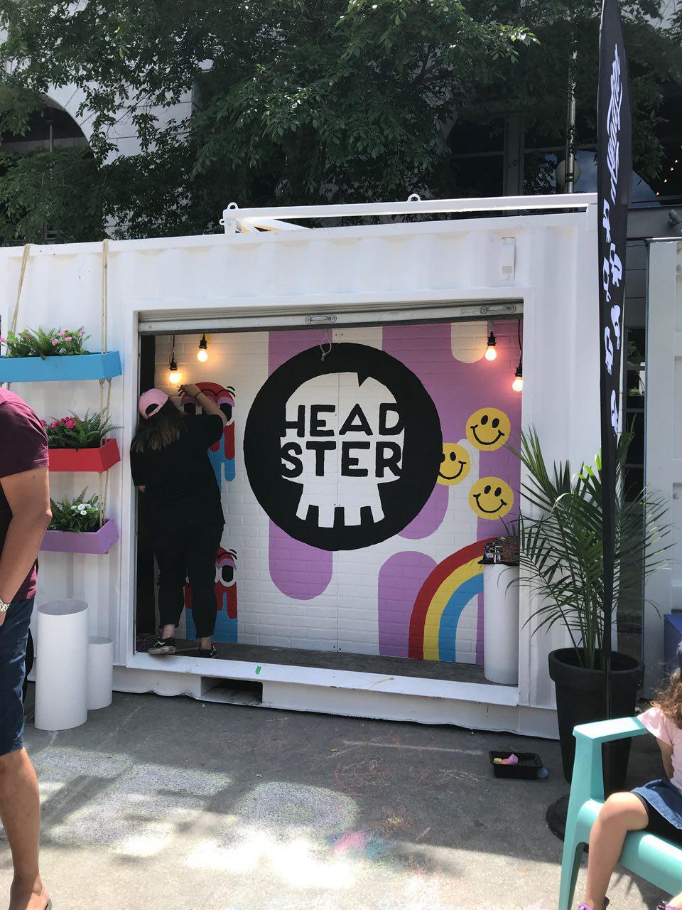 Headster_festival mural