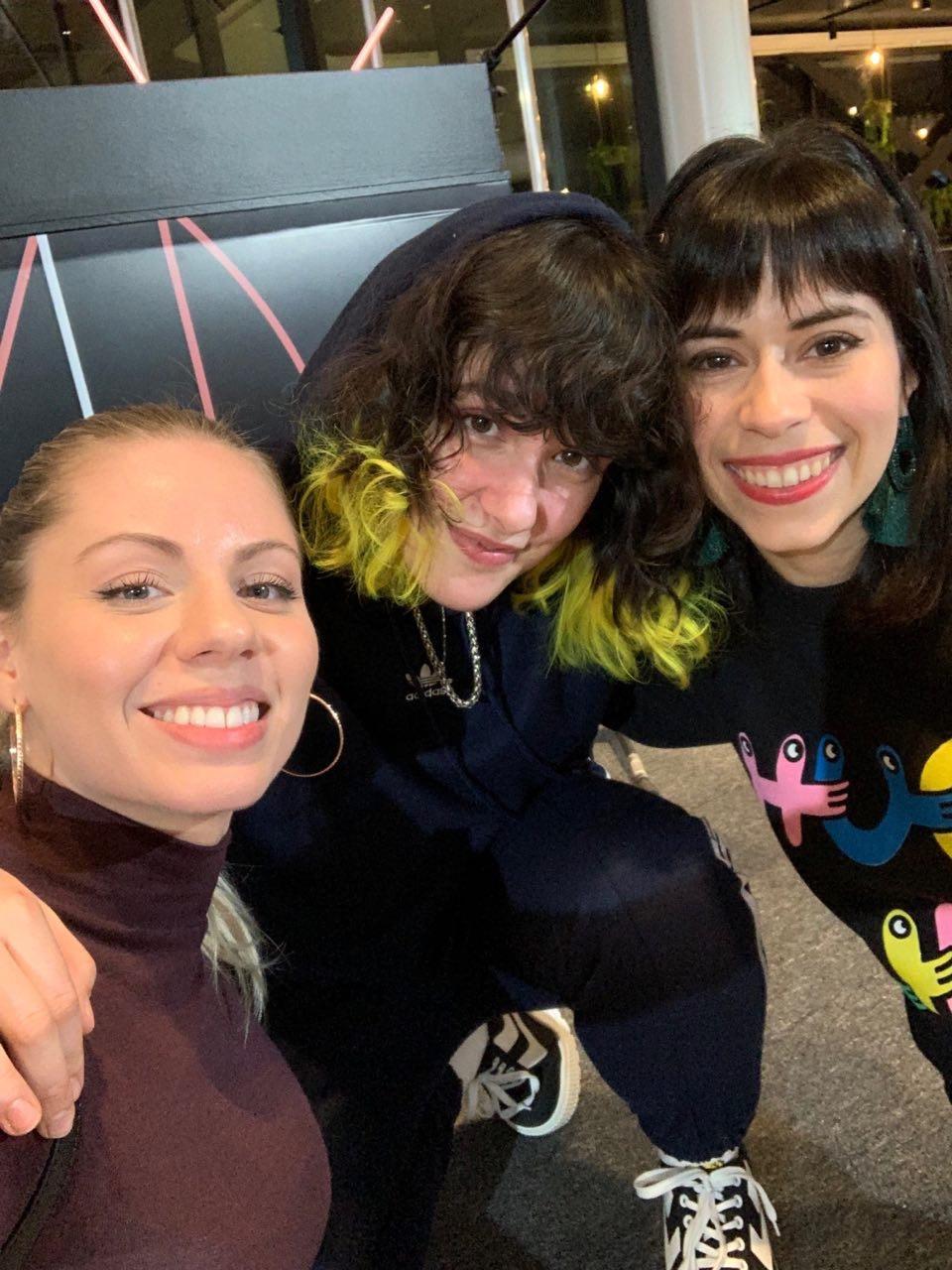 Avril, Laurence de Milk & Bone et moi