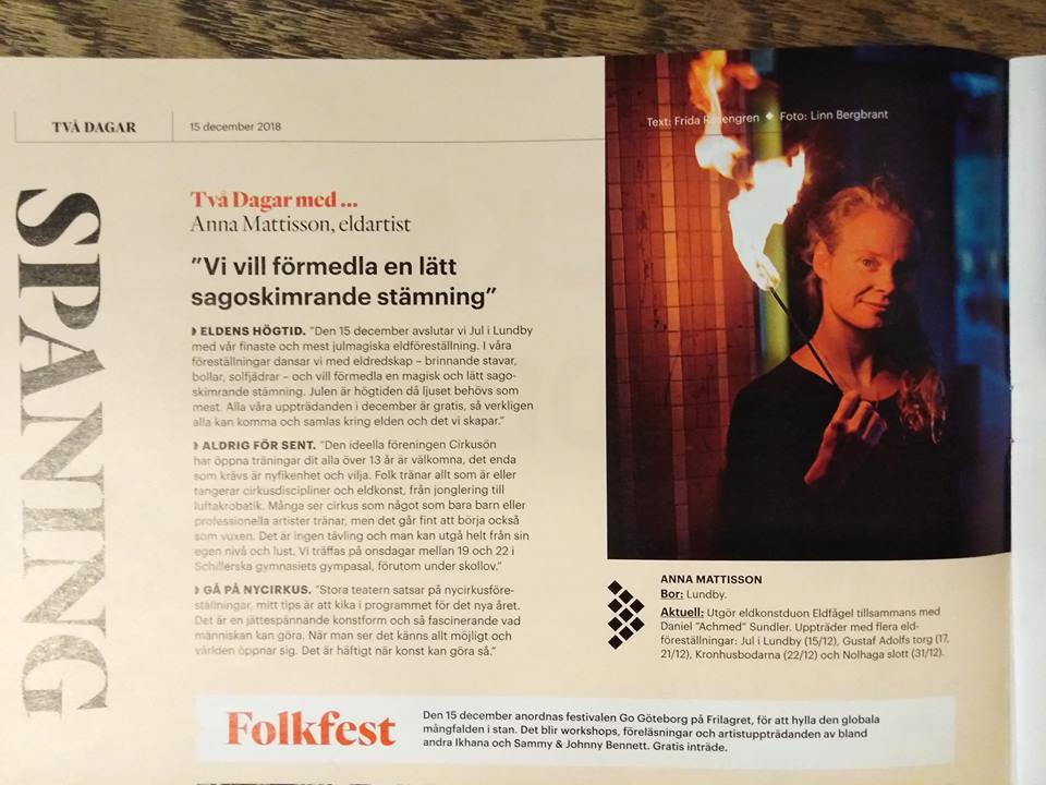 Göteborgs-Posten, Två Dagar, december 2018