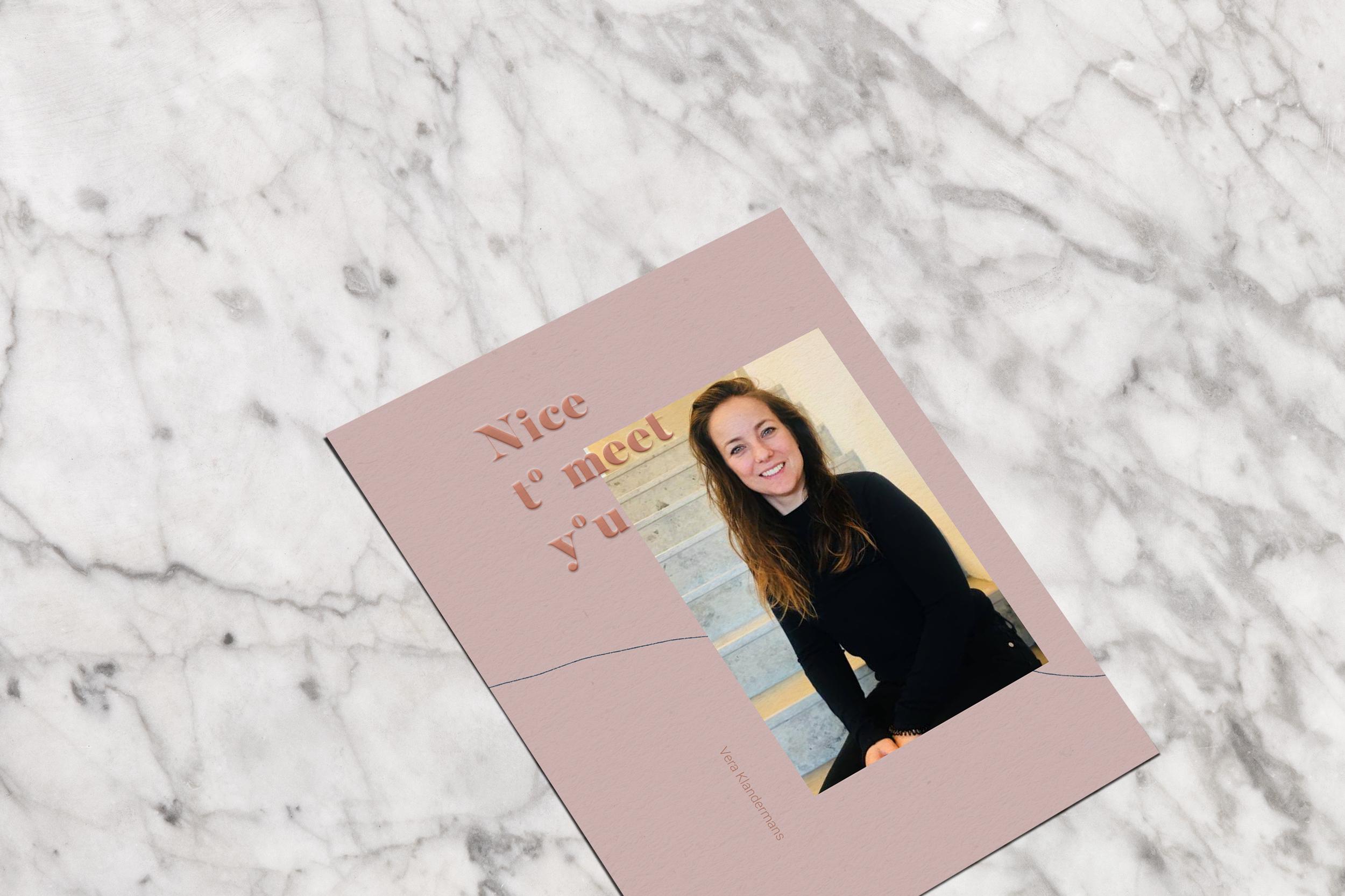About - Ik ben Vera Klandermans en zo'n 10 jaar ervaring in het maken van content voor merken en titels.