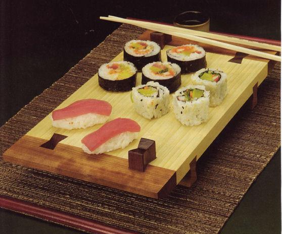 Sushi Tray Article, Woodcraft Magazine, March 2007
