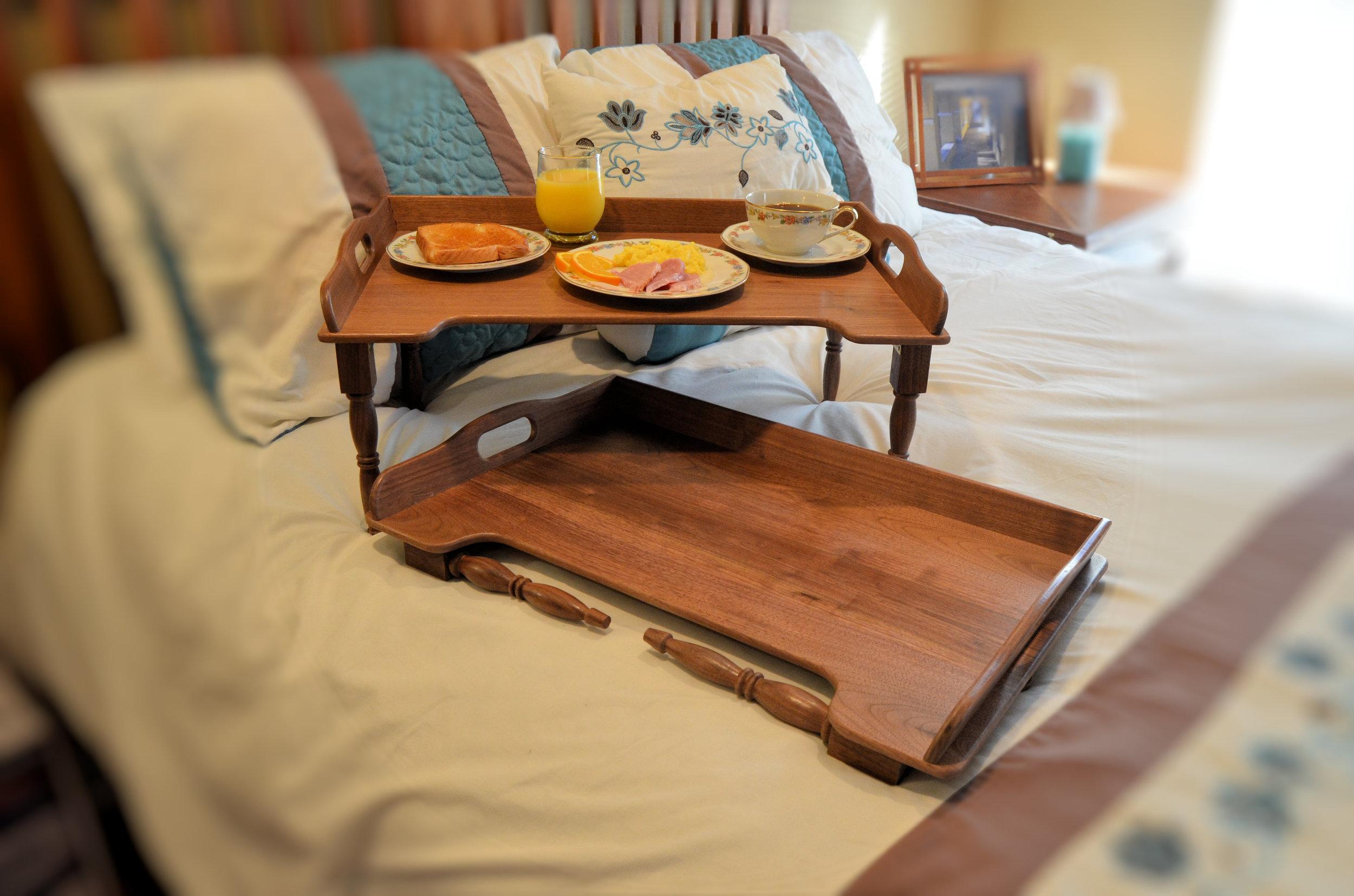 Woodcademy Tv Folding Breakfast Tray Woodcademy