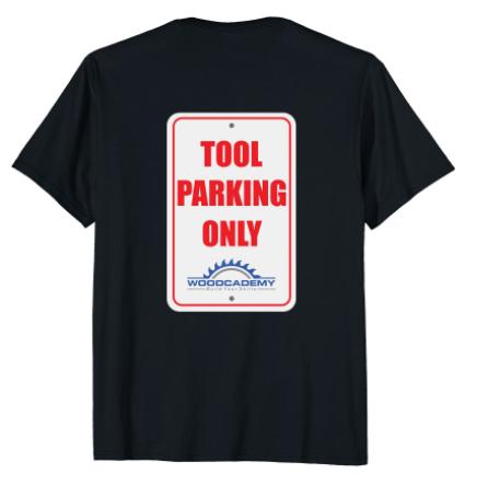 Tool Parking T-Shirt Back