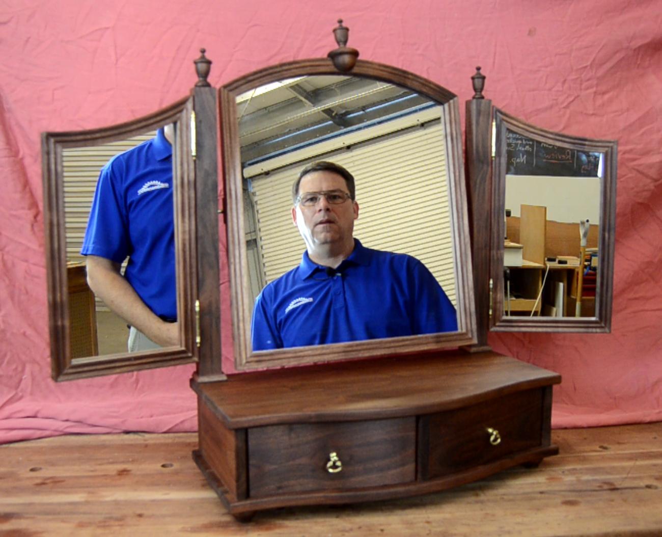 S2 E5 Triptych Dressing Mirror