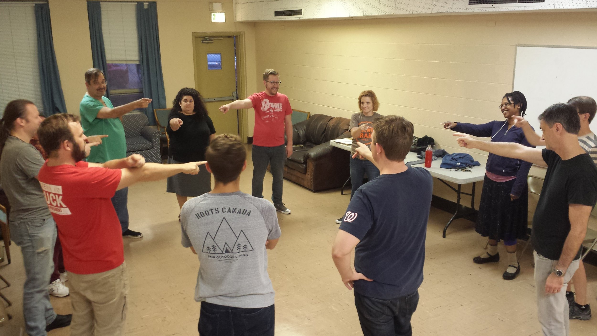 cincinnati improv classes teambuilding