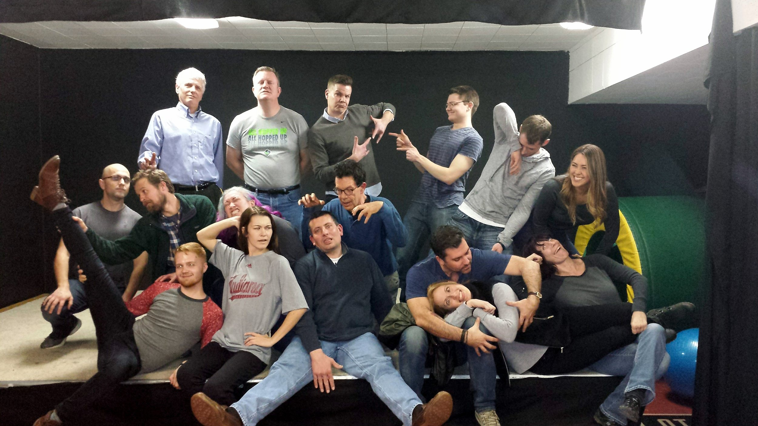 Try a fun, two-hour Intro to Improv workshop! -